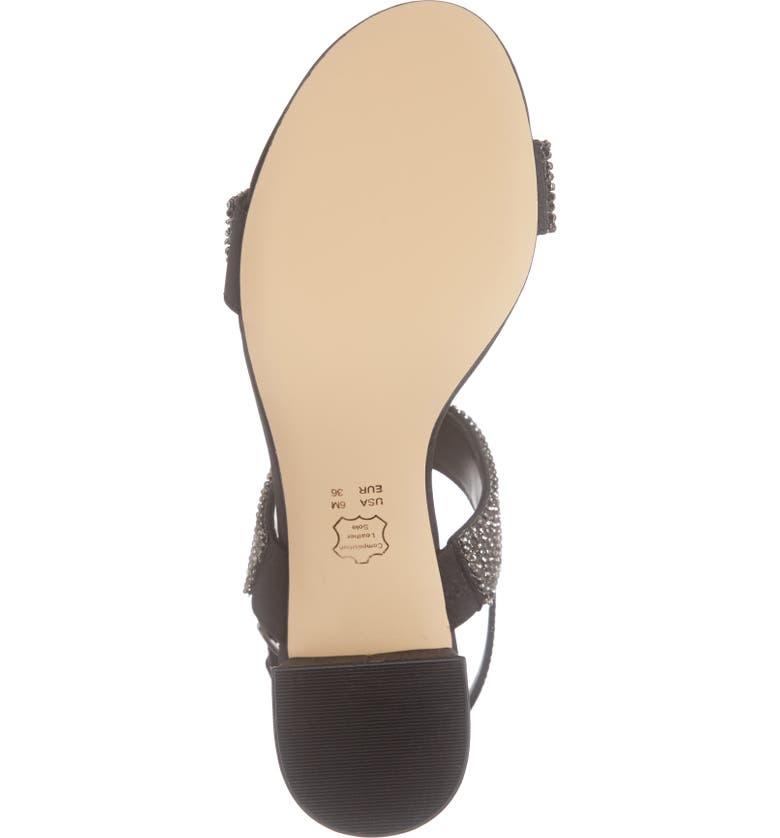 5ab75b3db0e Nina Naomi Crystal Embellished Sandal (Women)