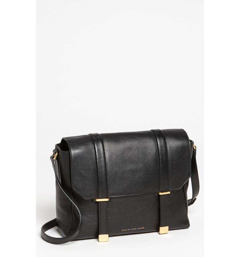 f544fb60257c MARC JACOBS MARC BY MARC JACOBS  Natural Selection  Leather Messenger Bag