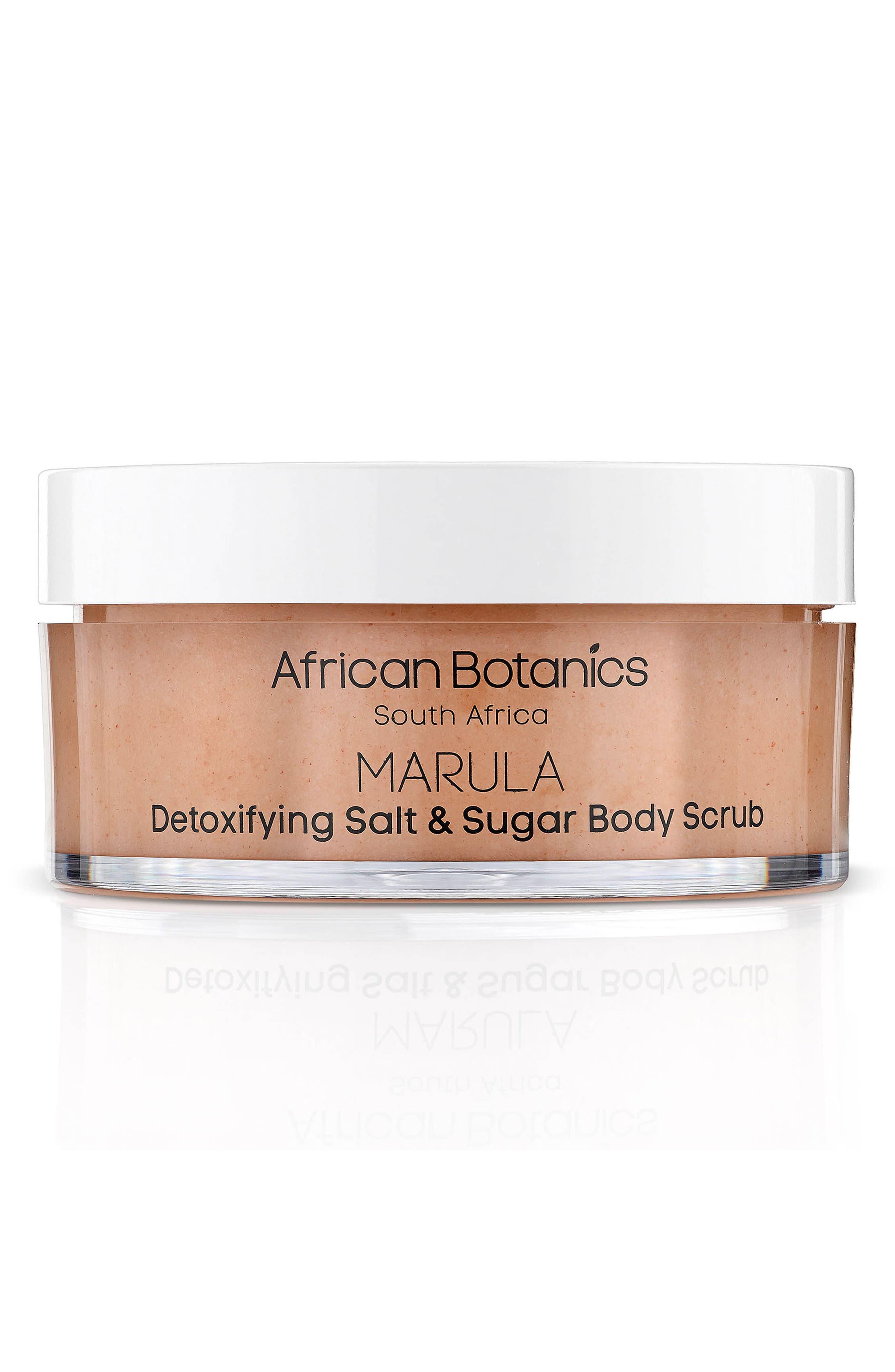 AFRICAN BOTANICS Detoxify Salt & Sugar Scrub, Main, color, NO COLOR
