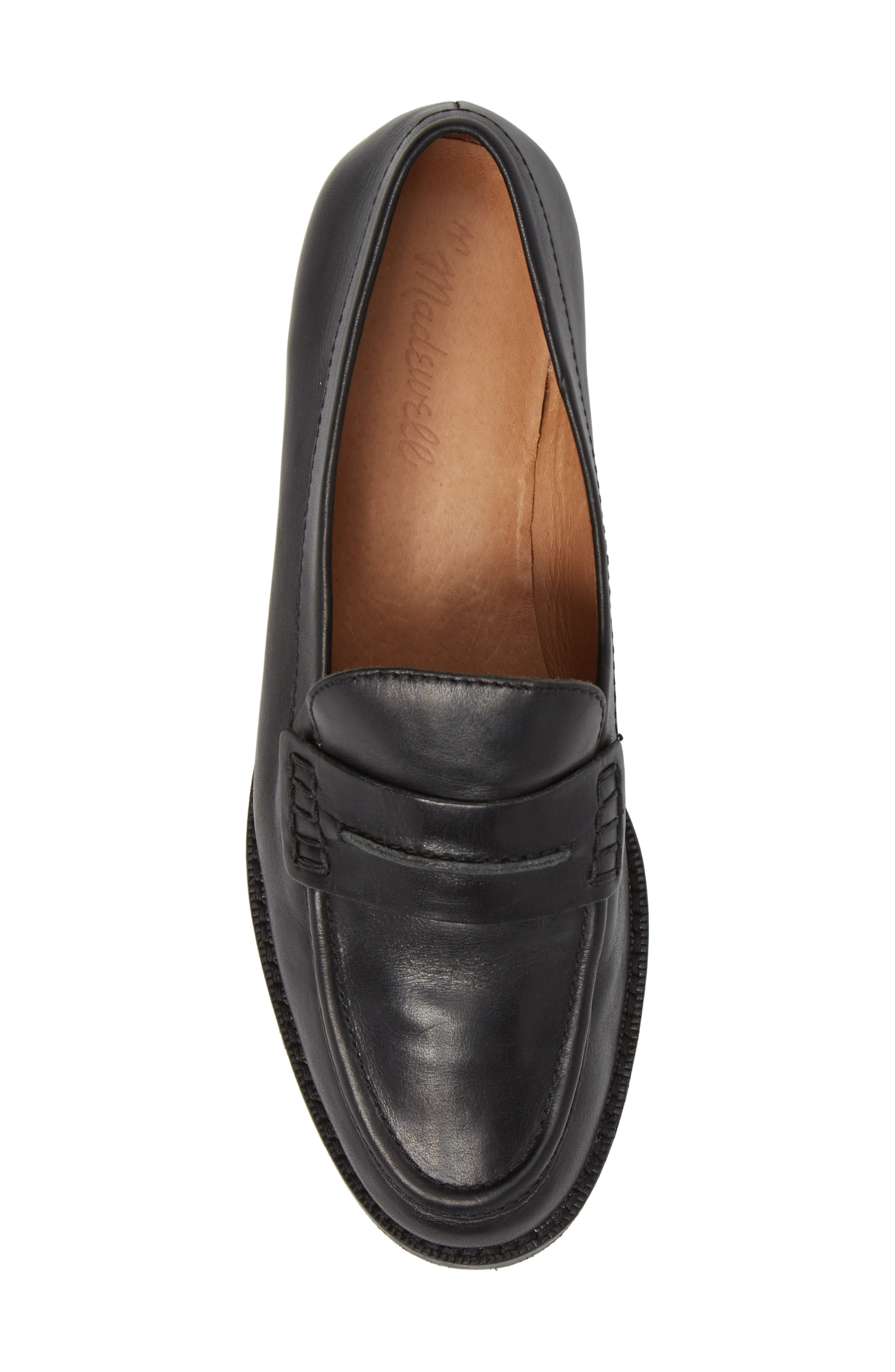 MADEWELL, The Elinor Loafer, Alternate thumbnail 5, color, 001