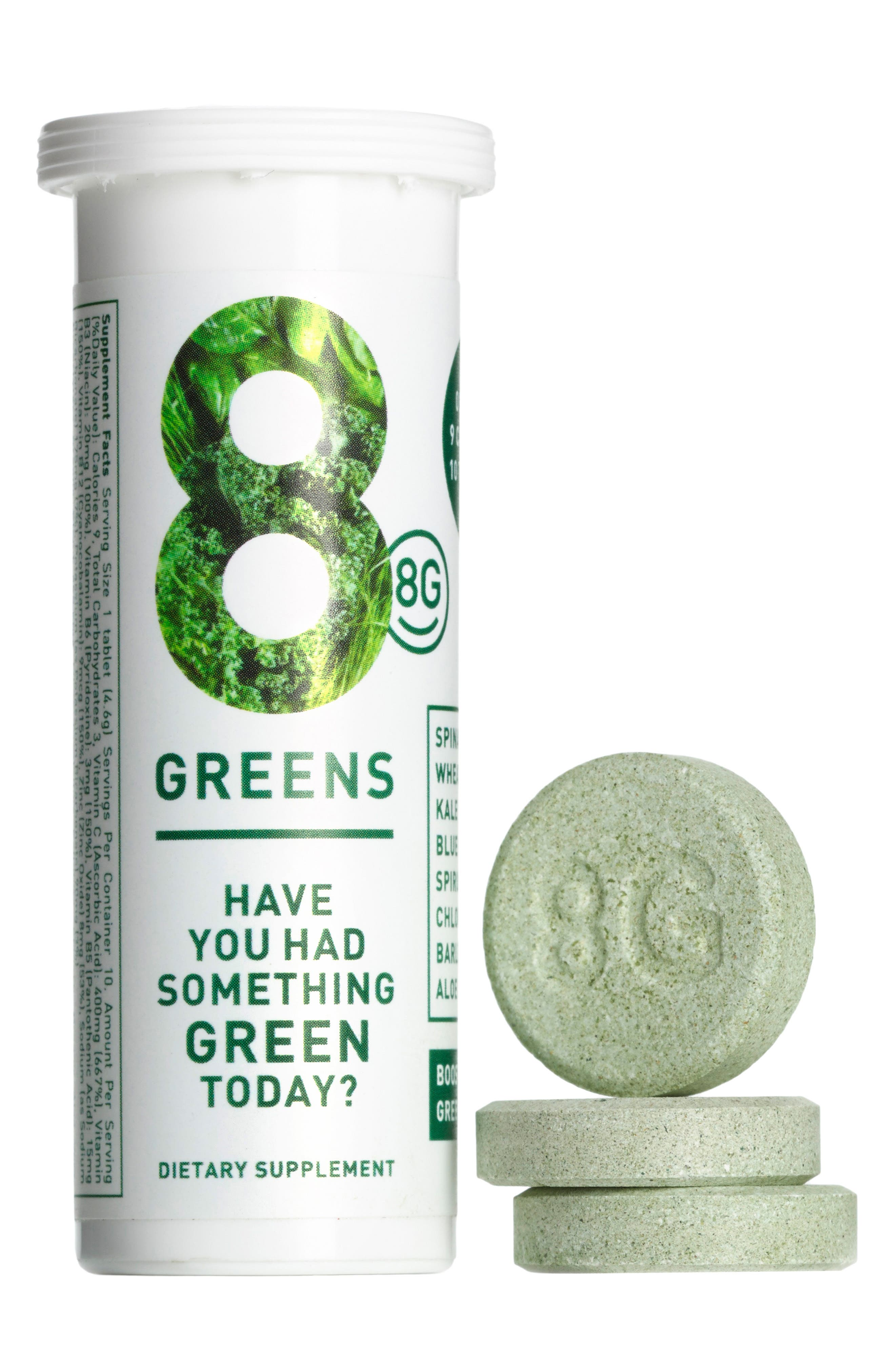 8G, Greens Dietary Supplement, Alternate thumbnail 5, color, NO COLOR