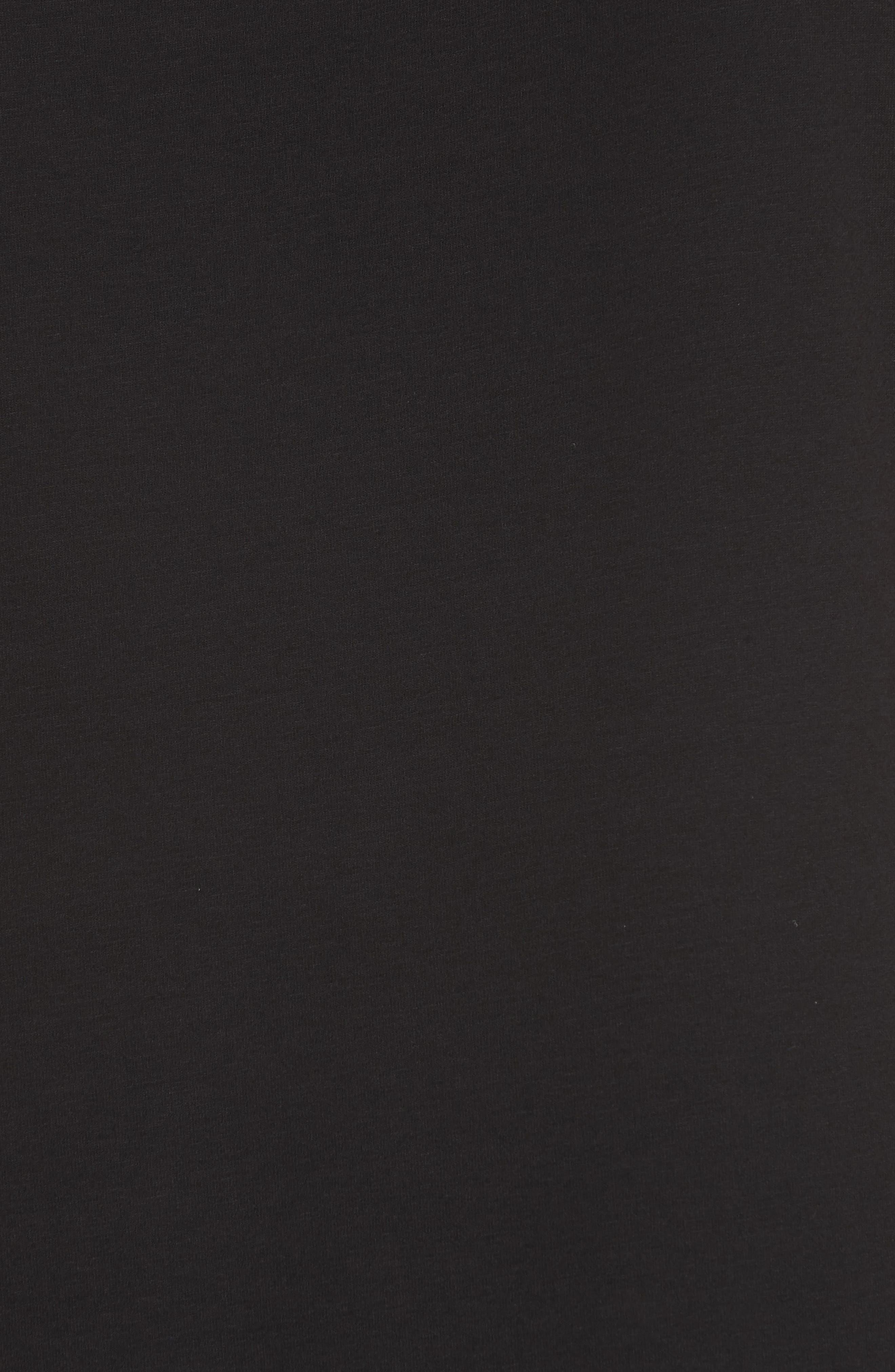 EILEEN FISHER, Midi Tank Dress, Alternate thumbnail 7, color, BLACK