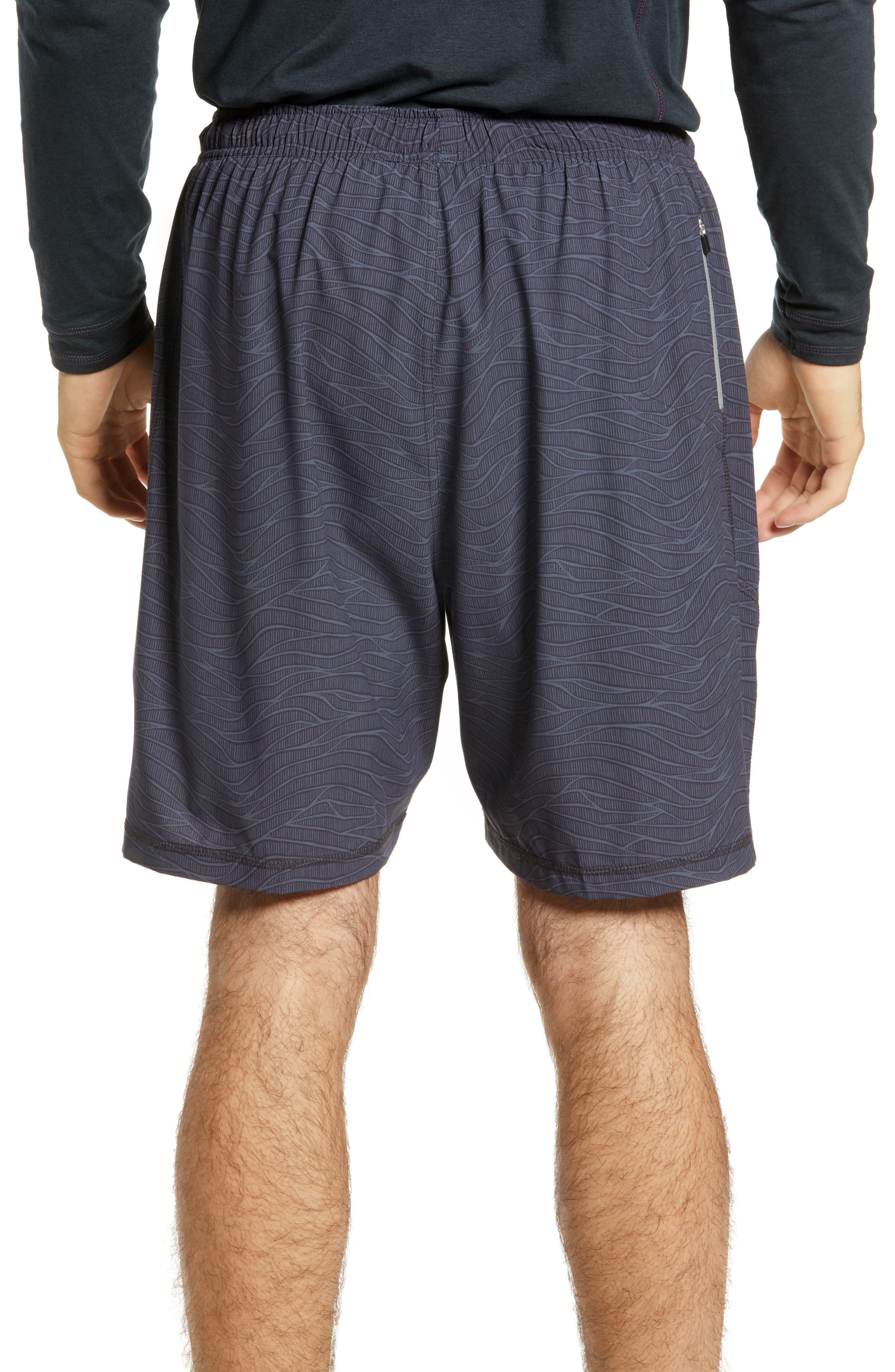TASC PERFORMANCE, Propulsion Athletic Shorts, Alternate thumbnail 2, color, BLACK SONIC WAVE