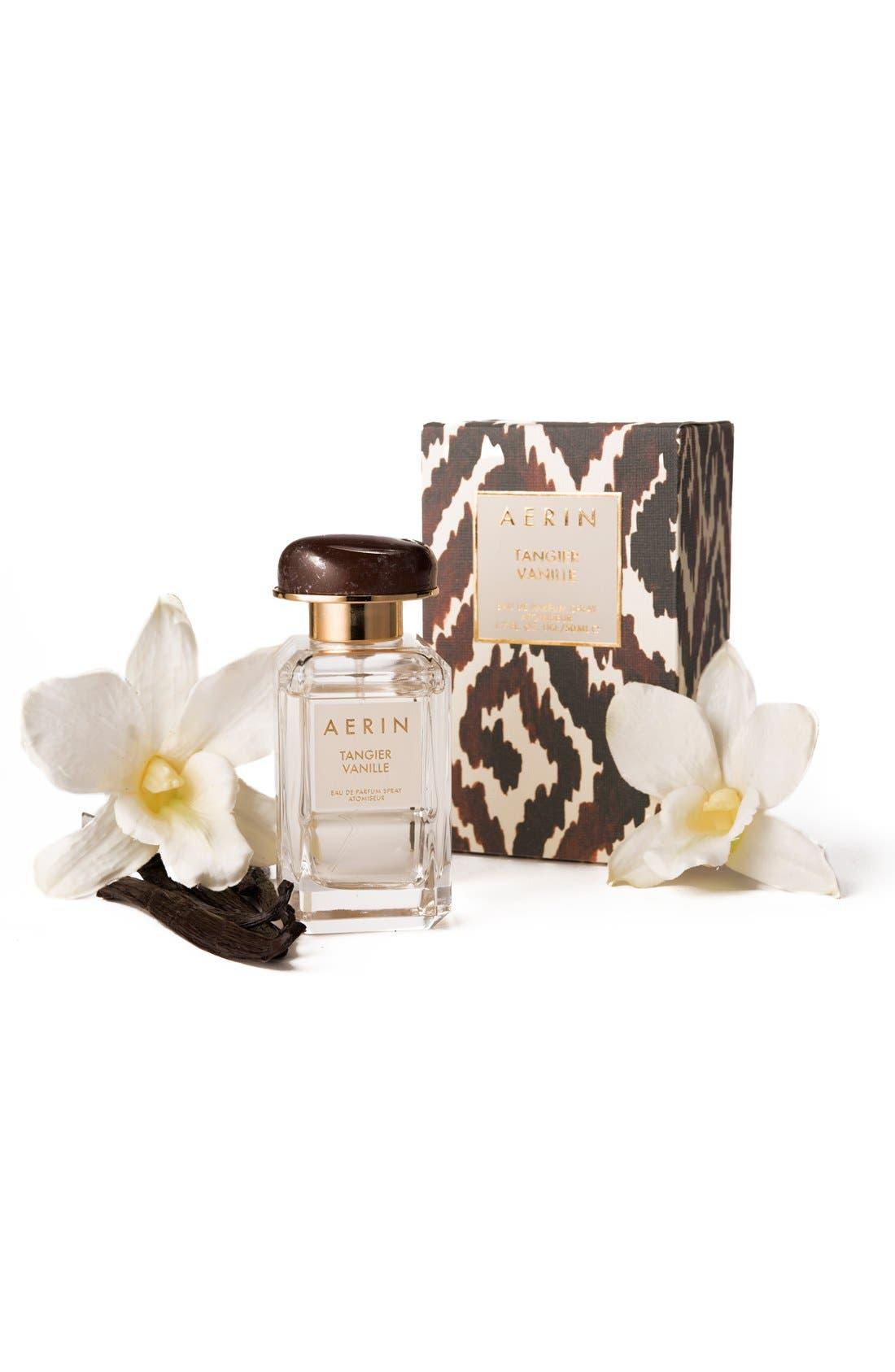 ESTÉE LAUDER, AERIN Beauty Tangier Vanille Eau de Parfum Spray, Alternate thumbnail 4, color, NO COLOR