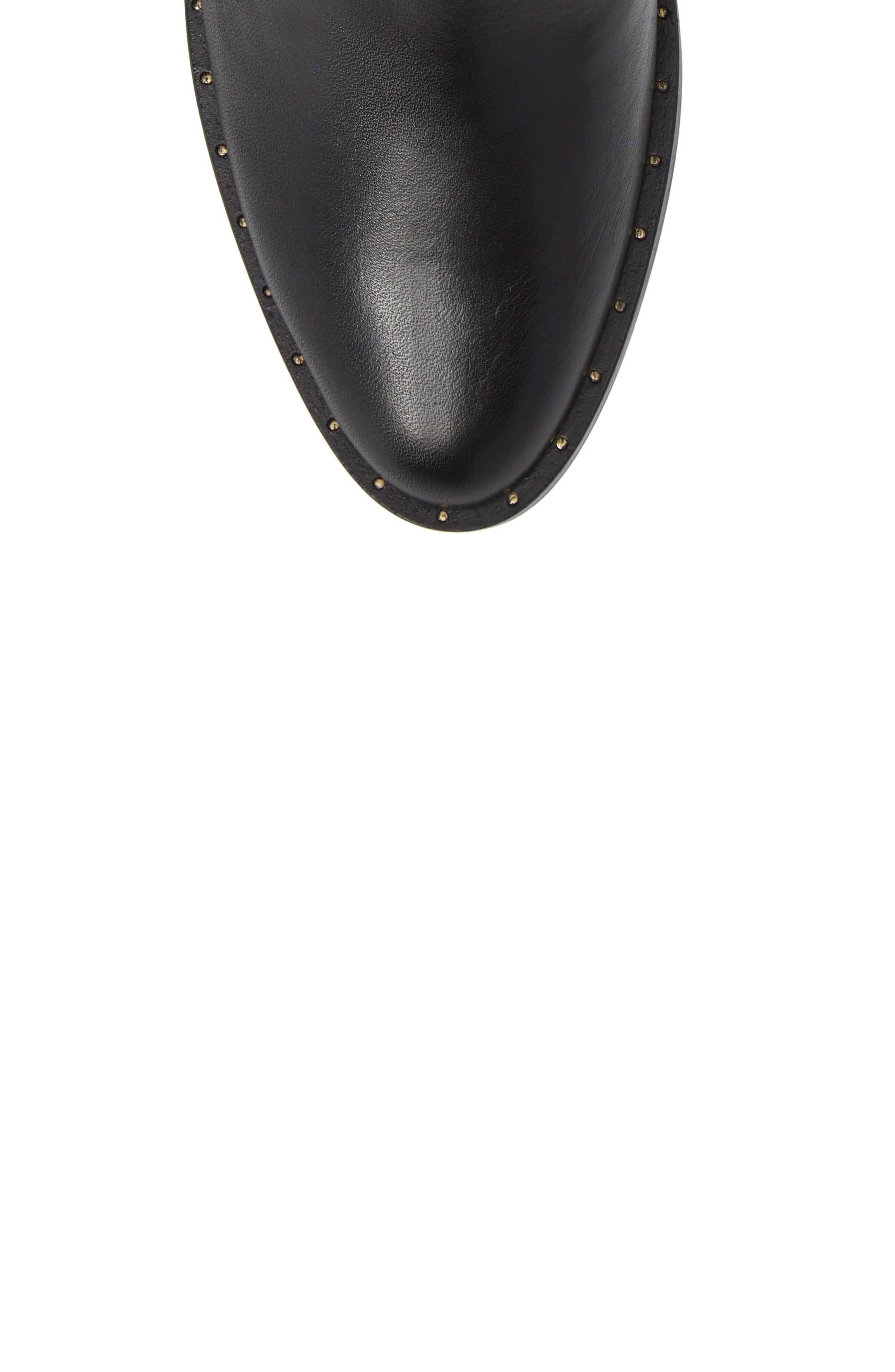 HISPANITAS, Dawn Bootie, Alternate thumbnail 5, color, SOHO BLACK LEATHER