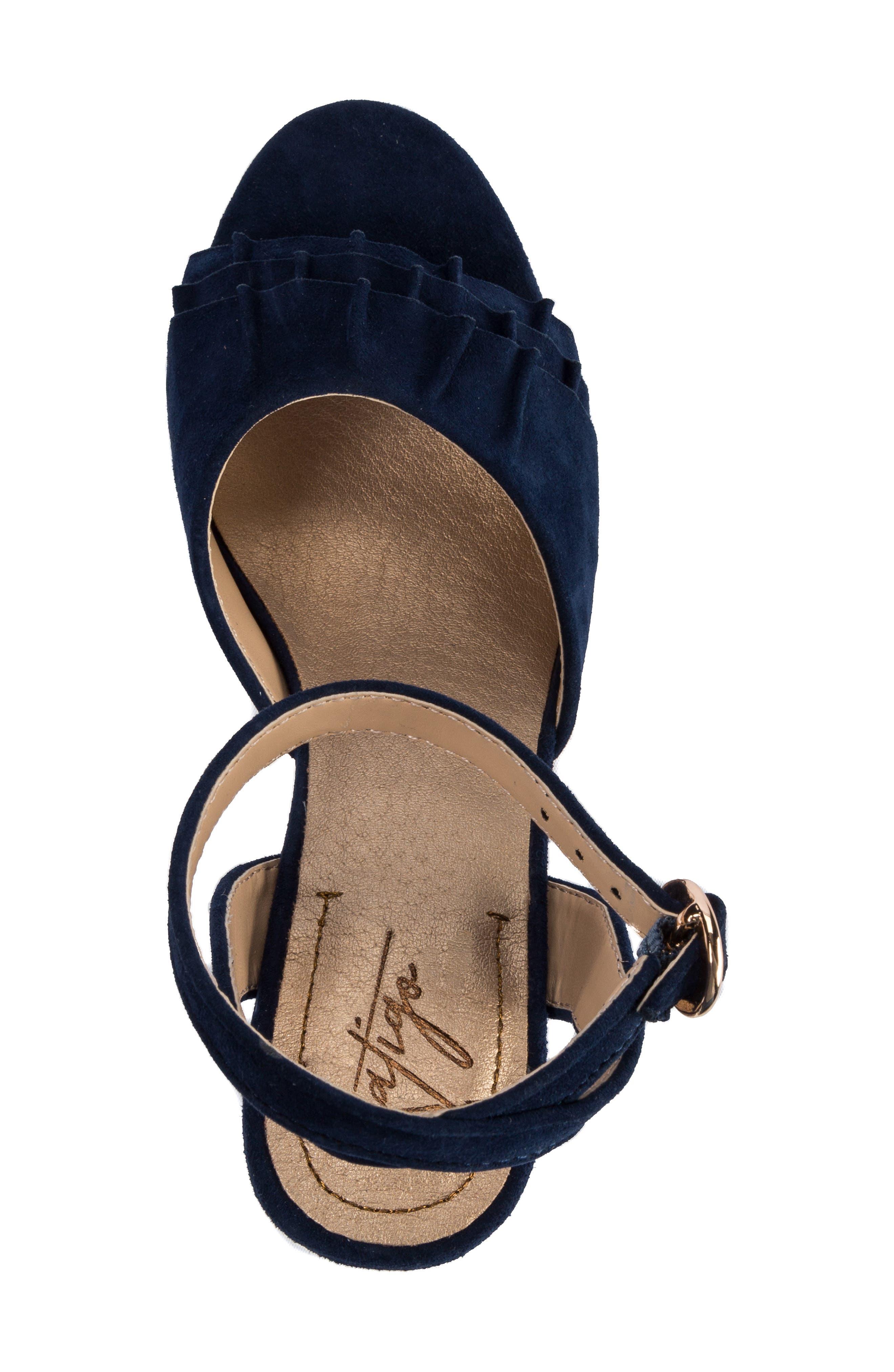 LATIGO, Idelle Ankle Strap Sandal, Alternate thumbnail 5, color, 410