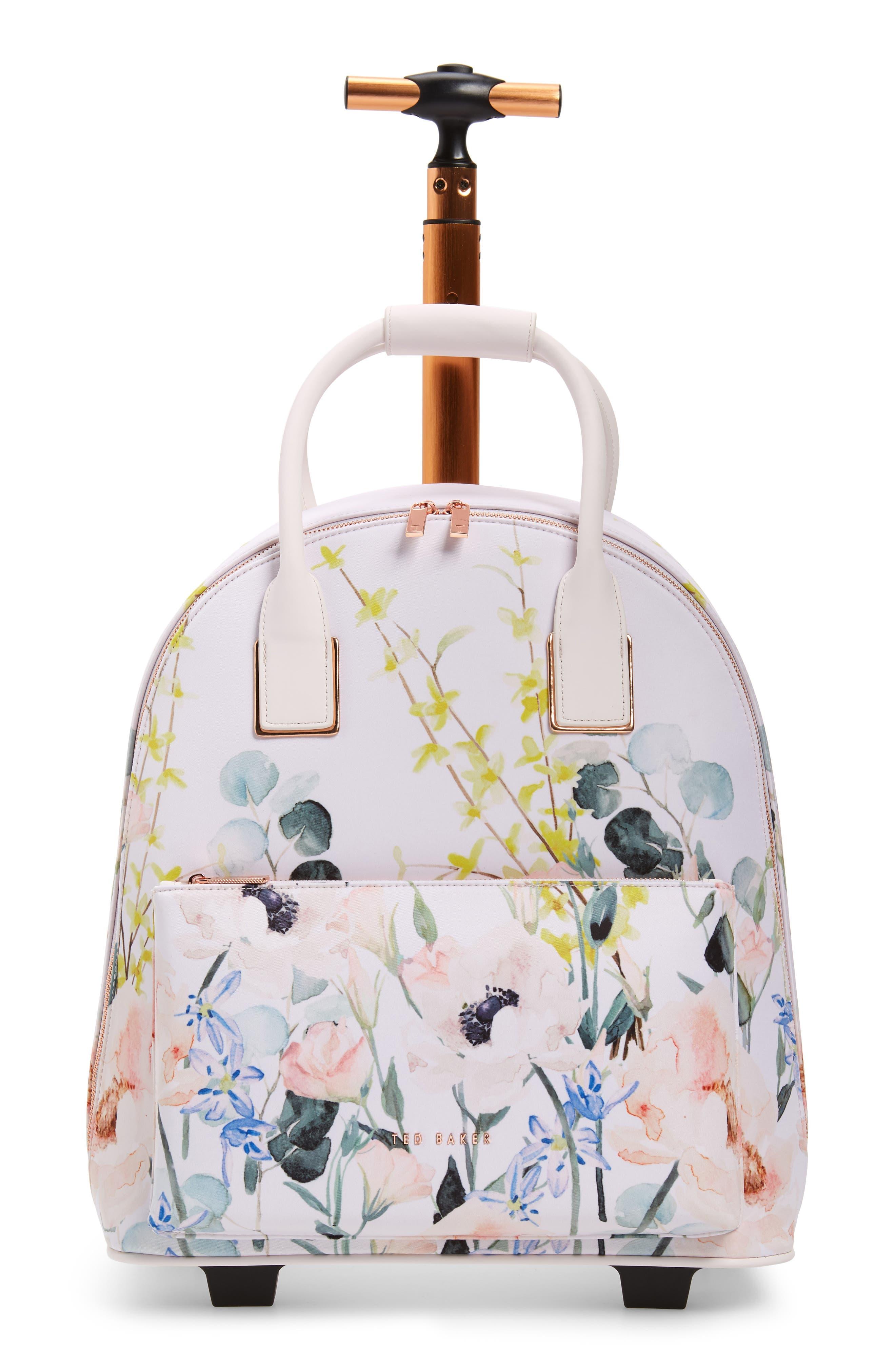 TED BAKER LONDON, Elianna Elegant Travel Bag, Main thumbnail 1, color, NUDE PINK