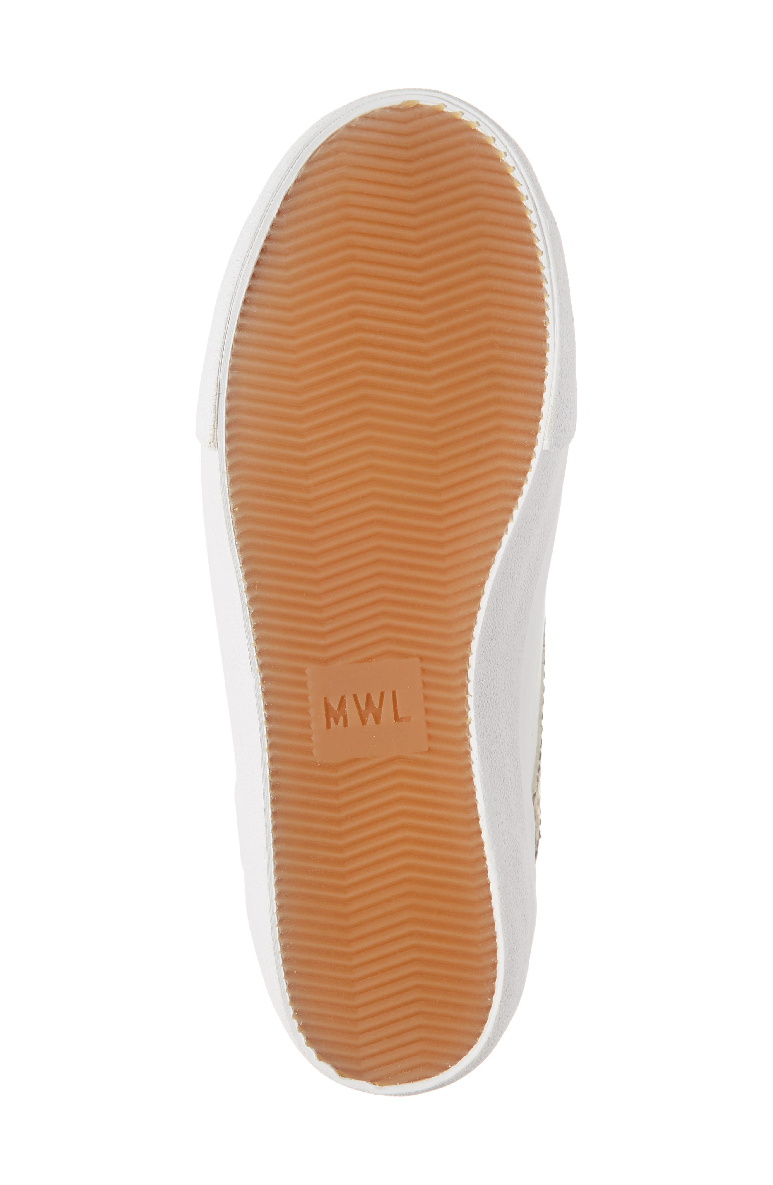 MADEWELL, Delia Sneaker, Alternate thumbnail 7, color, LIGHT UMBER MULTI