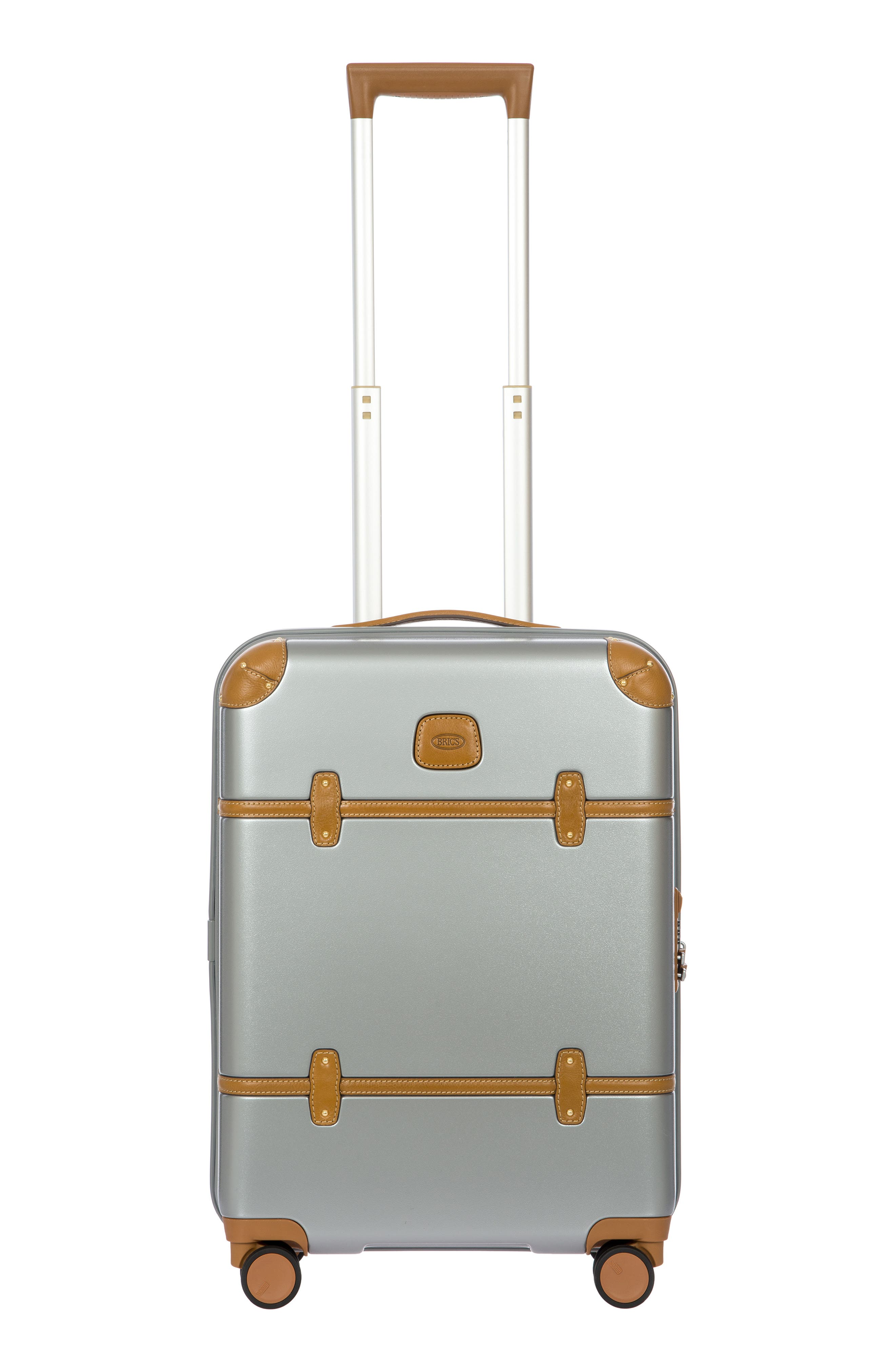 BRIC'S, Bellagio 2.0 21-Inch Rolling Carry-On, Main thumbnail 1, color, SILVER
