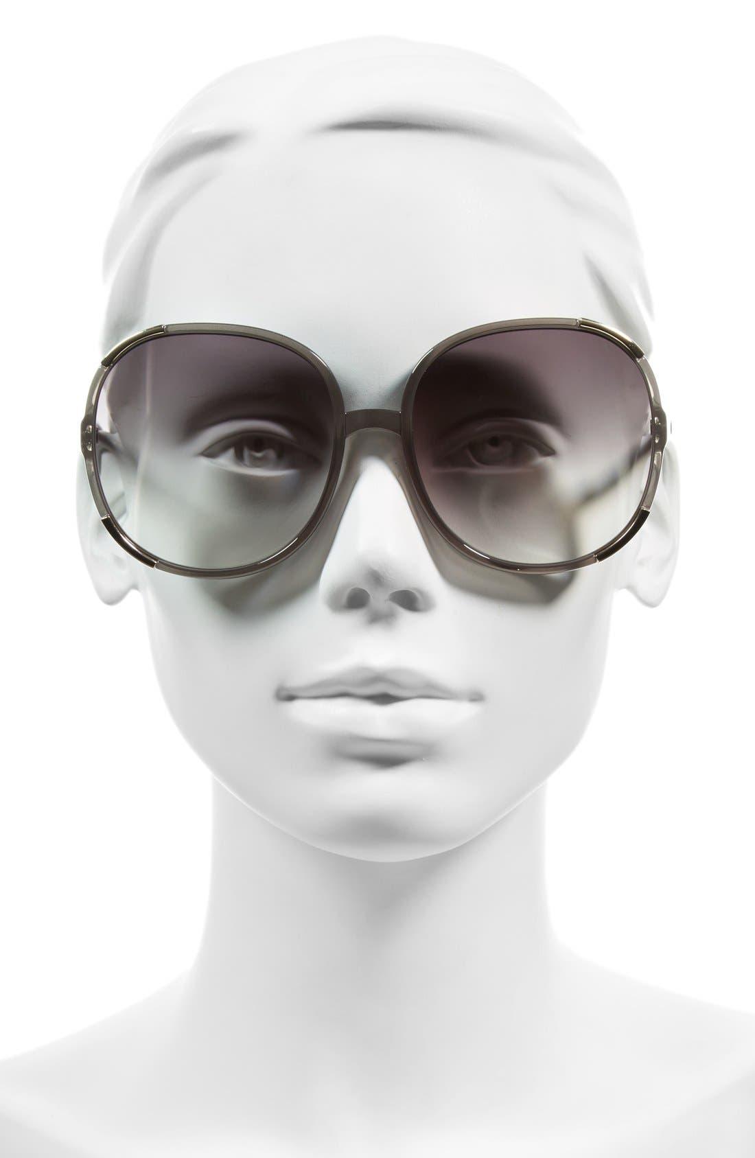 CHLOÉ, Myrte 61mm Sunglasses, Alternate thumbnail 2, color, 036