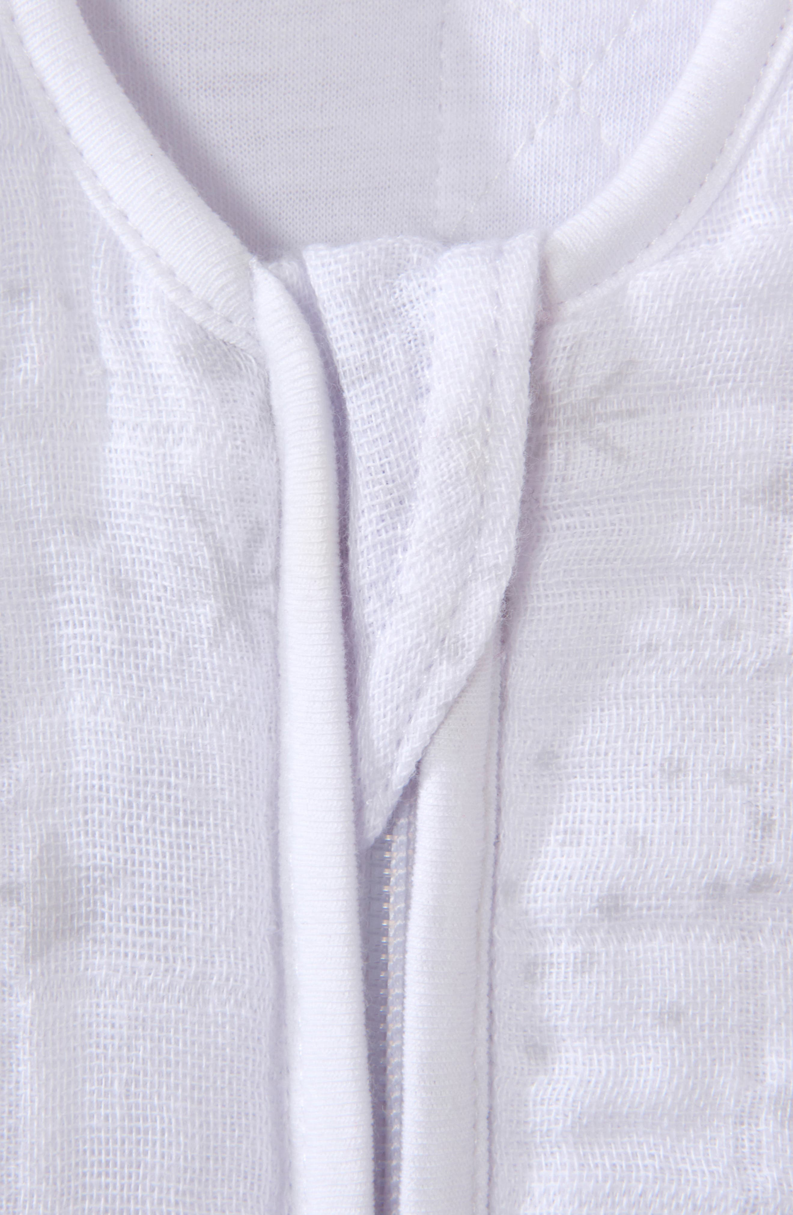 HALO<SUP>®</SUP>, Platinum Series SleepSack<sup>™</sup> Quilted Swaddle, Alternate thumbnail 2, color, GREY CONSTELLATION