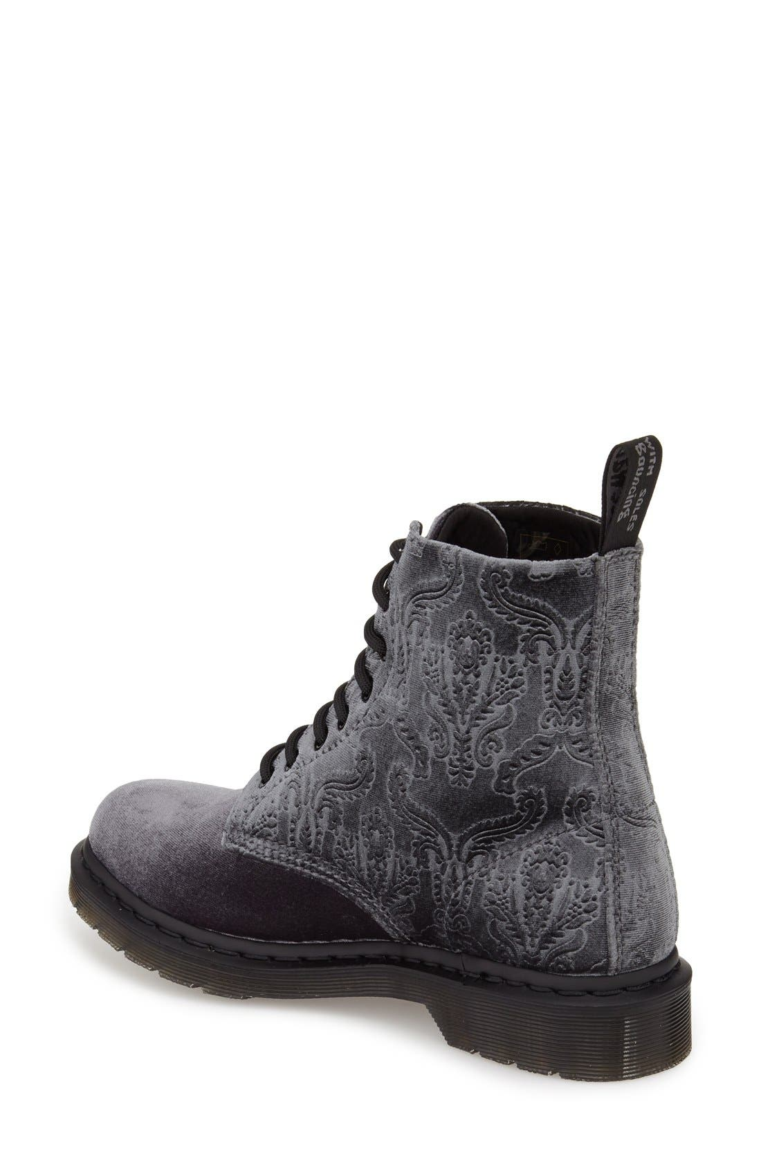DR. MARTENS, 'Pascal' Hiking Boot, Alternate thumbnail 3, color, 020