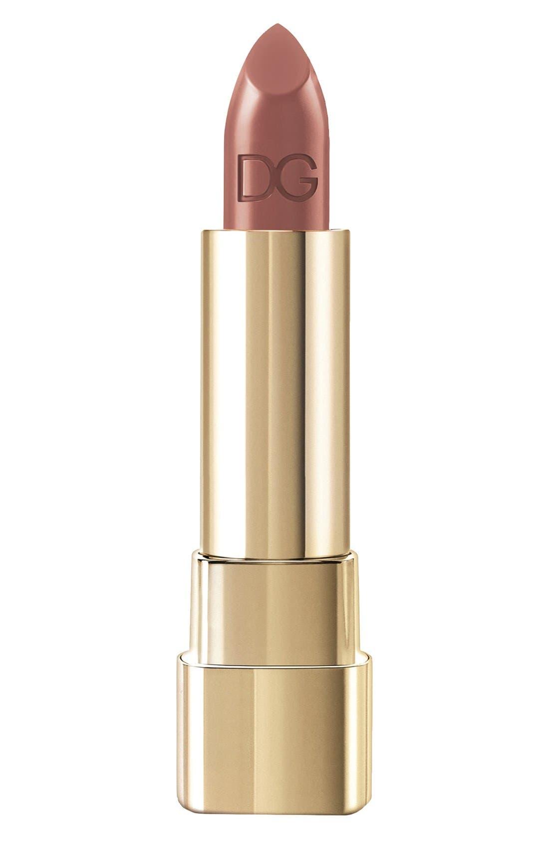 DOLCE&GABBANA BEAUTY Classic Cream Lipstick, Main, color, 255
