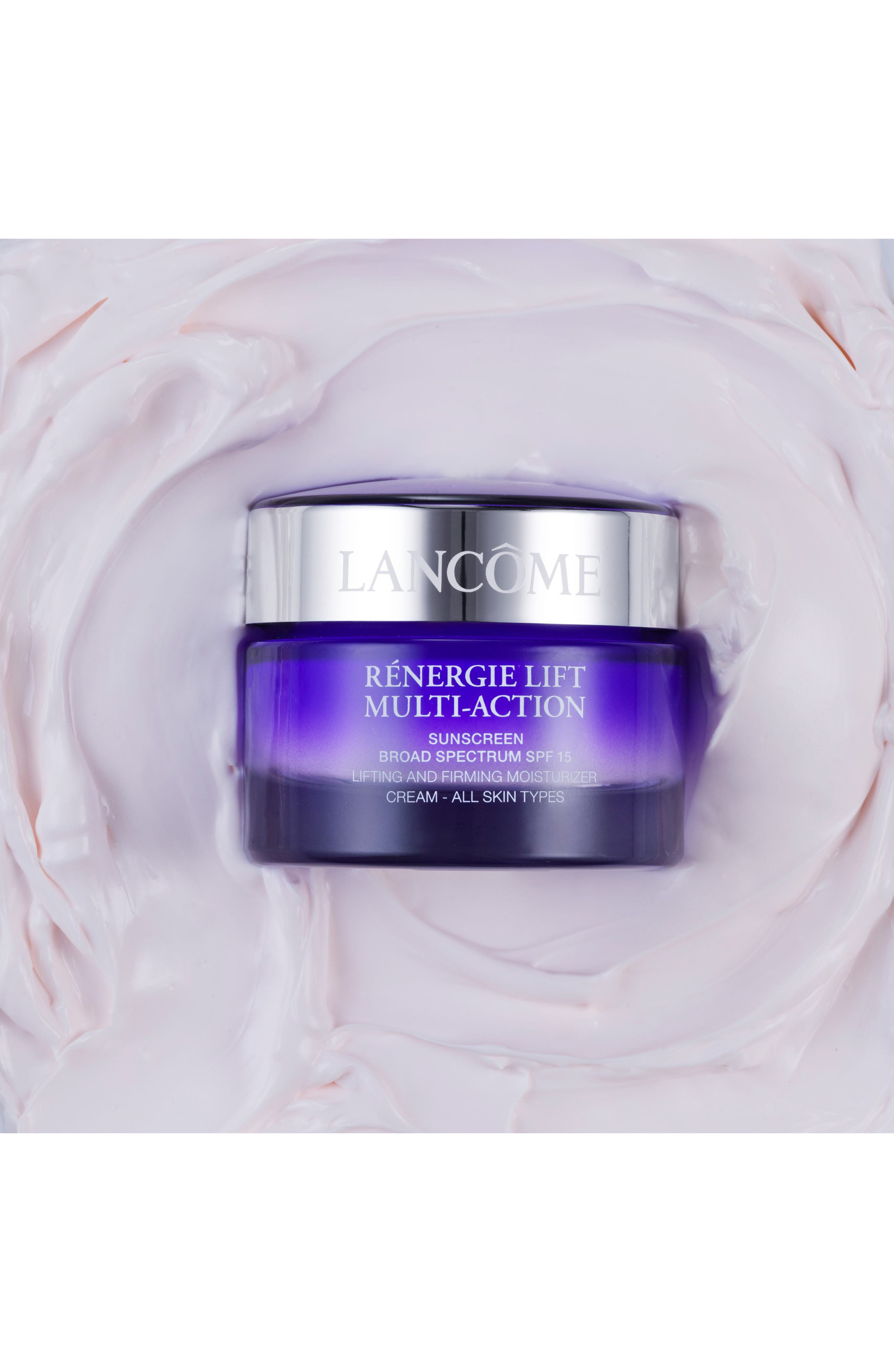LANCÔME, Rénergie Lift Multi Action Moisturizer Cream SPF 15 for Dry Skin, Alternate thumbnail 2, color, NO COLOR