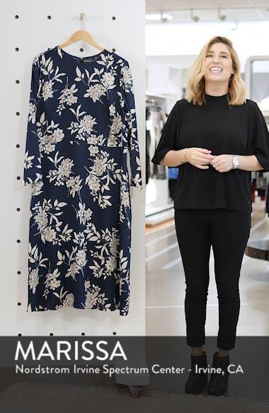 Etched Bouquet Midi Dress, sales video thumbnail