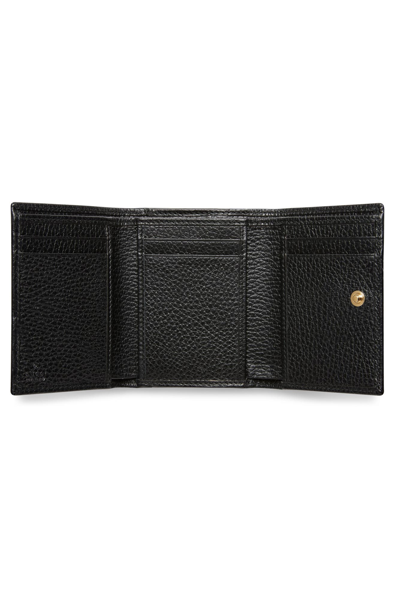 2ba19560b10 Gucci Petite Marmont Leather French Wallet