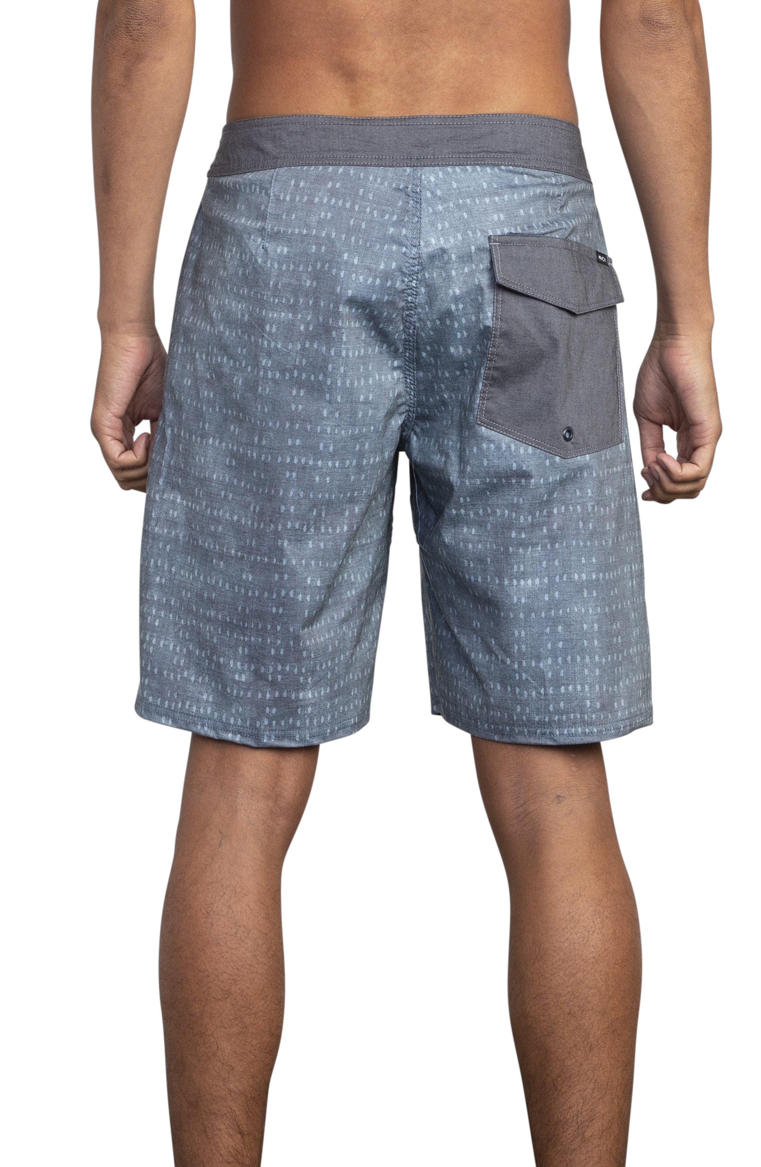 RVCA, Nakama Board Shorts, Alternate thumbnail 2, color, DENIM