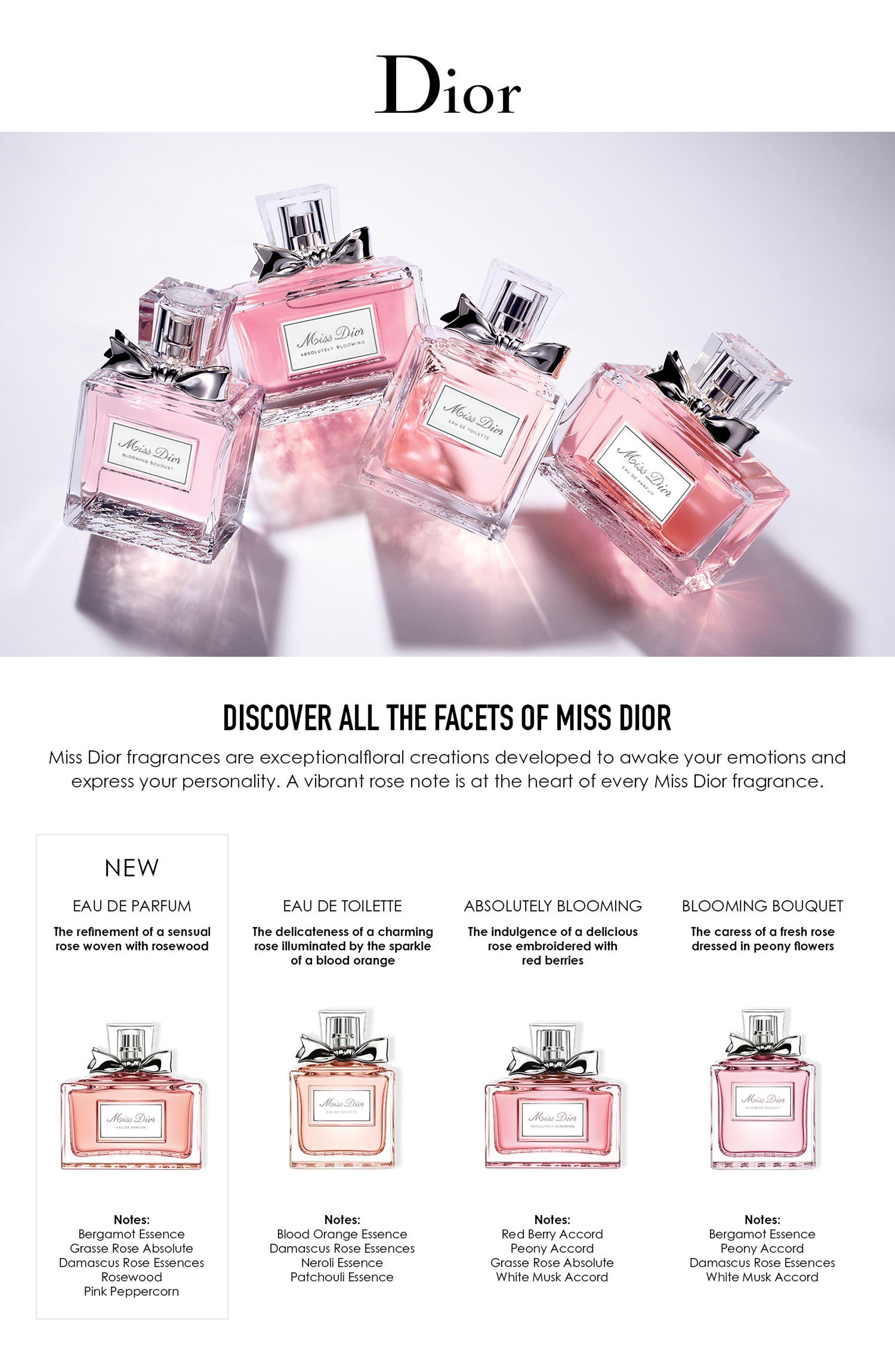 DIOR, Miss Dior Eau de Parfum, Alternate thumbnail 2, color, 000