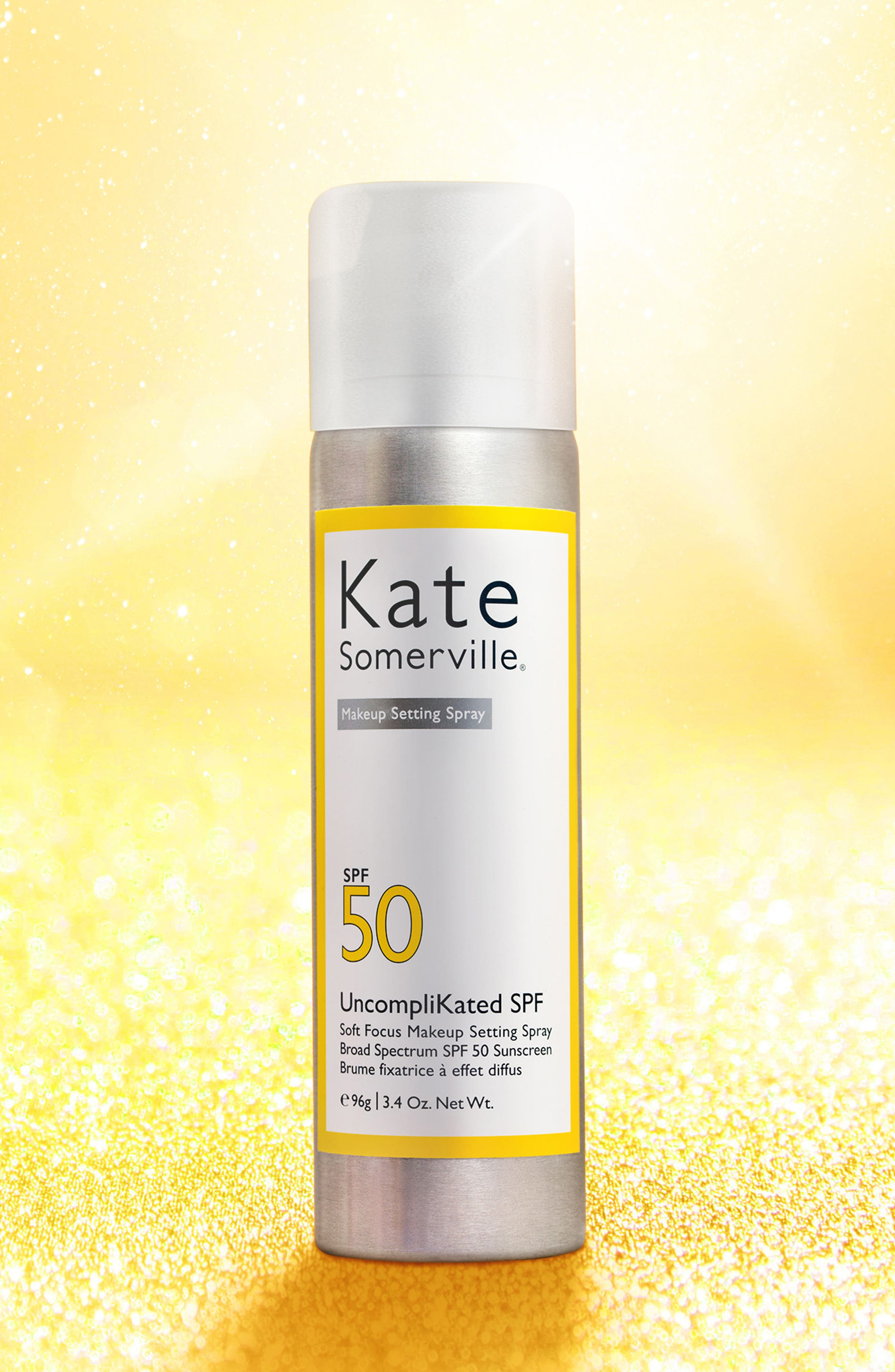 KATE SOMERVILLE<SUP>®</SUP>, UncompliKated SPF Makeup Setting Spray SPF 50, Alternate thumbnail 5, color, NO COLOR