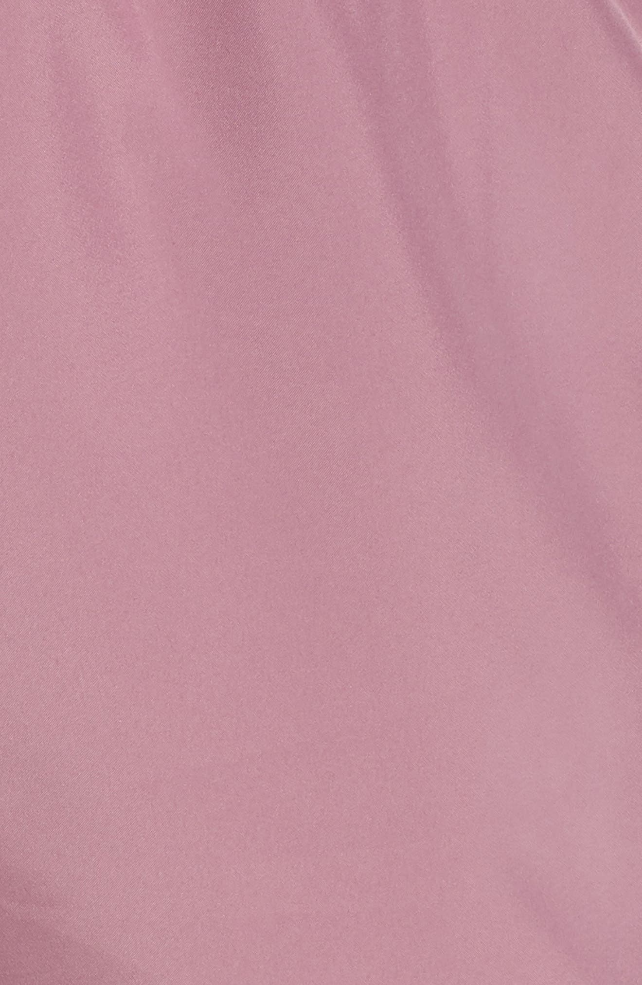 NIKE, Dry Tempo High Rise Running Shorts, Alternate thumbnail 6, color, PLUM/ EL DORADO/ WOLF GREY