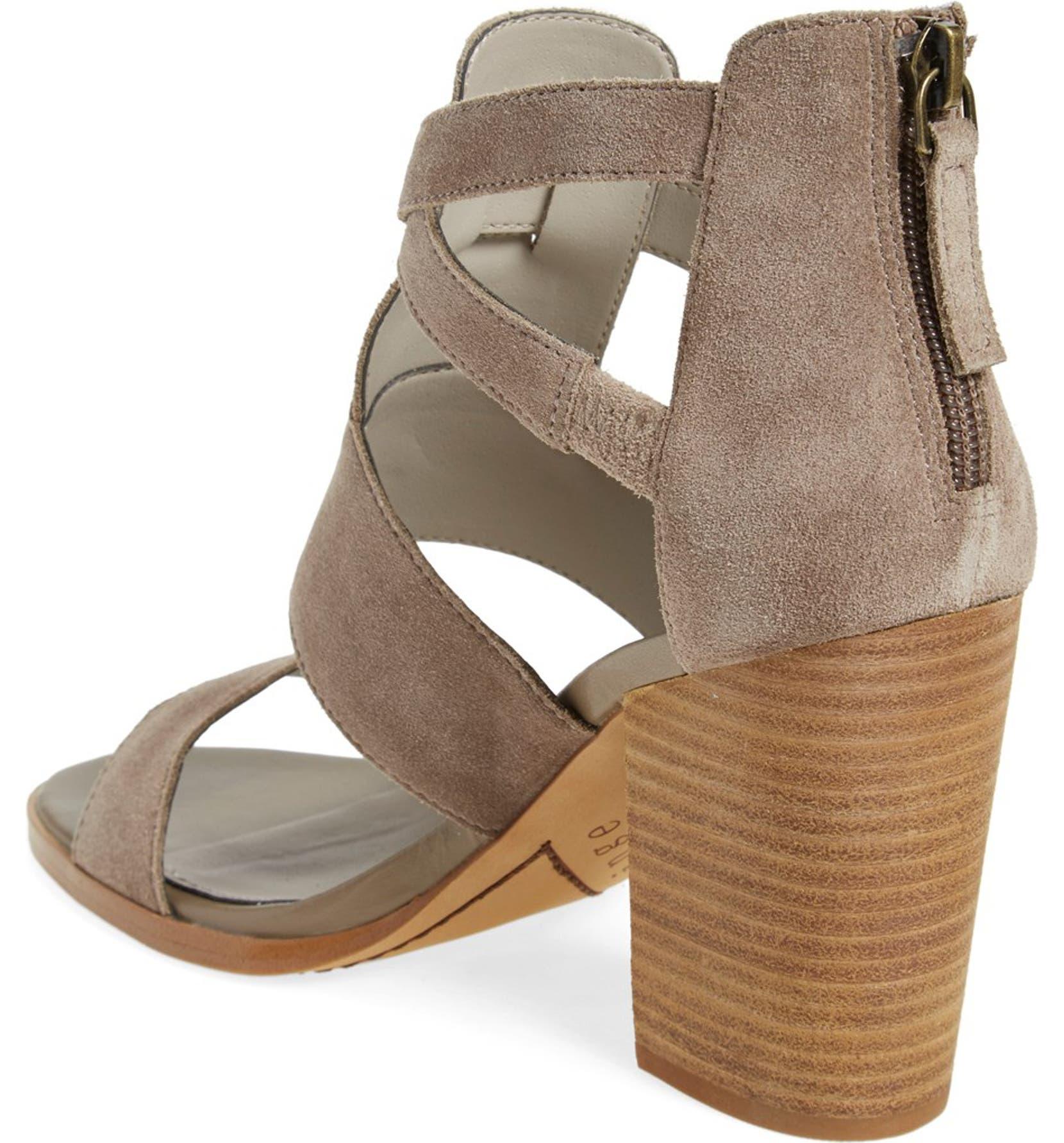 6cfd9fca5db Hinge  Cora  Block Heel Sandal (Women)