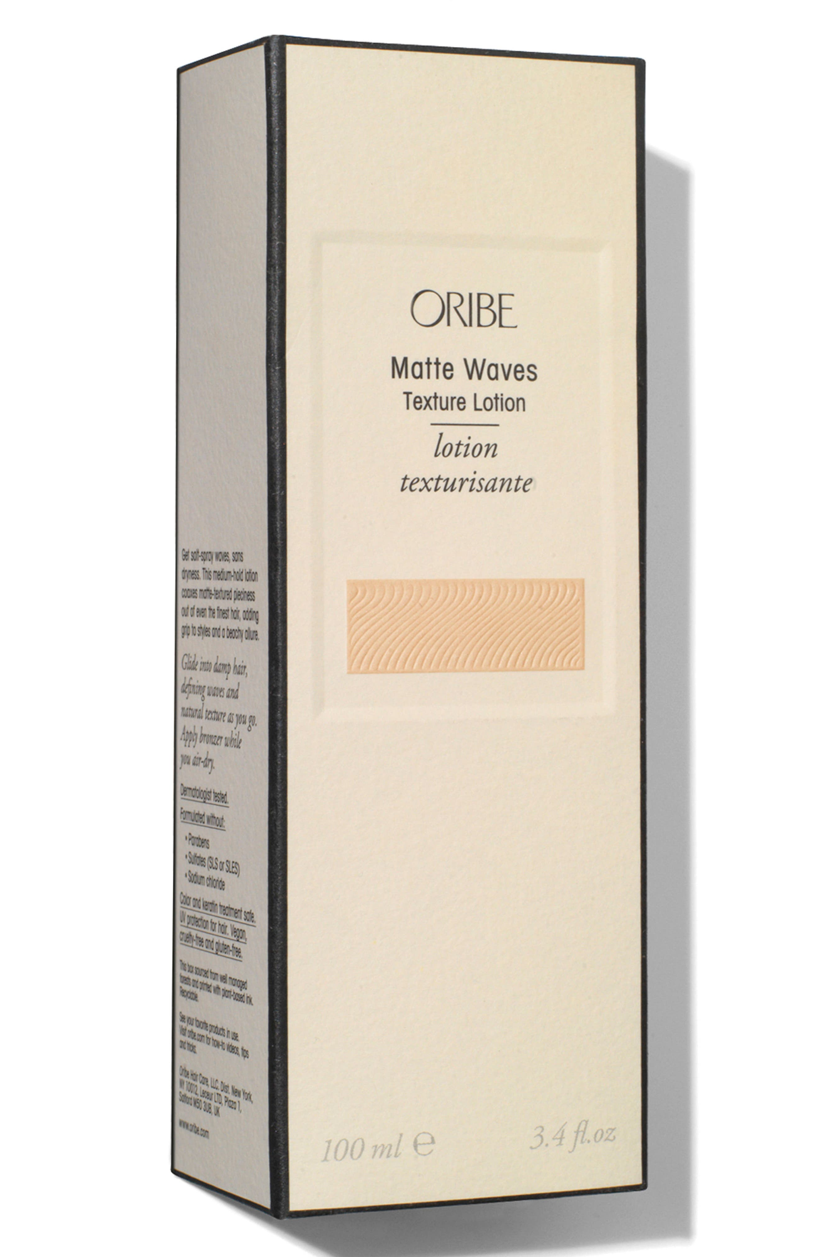 ORIBE, SPACE.NK.apothecary Oribe Matte Waves Texture Lotion, Alternate thumbnail 3, color, NO COLOR