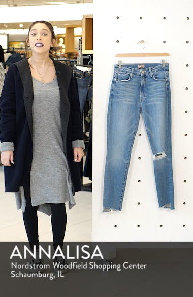 The Stunner Step Hem Ankle Skinny Jeans, sales video thumbnail
