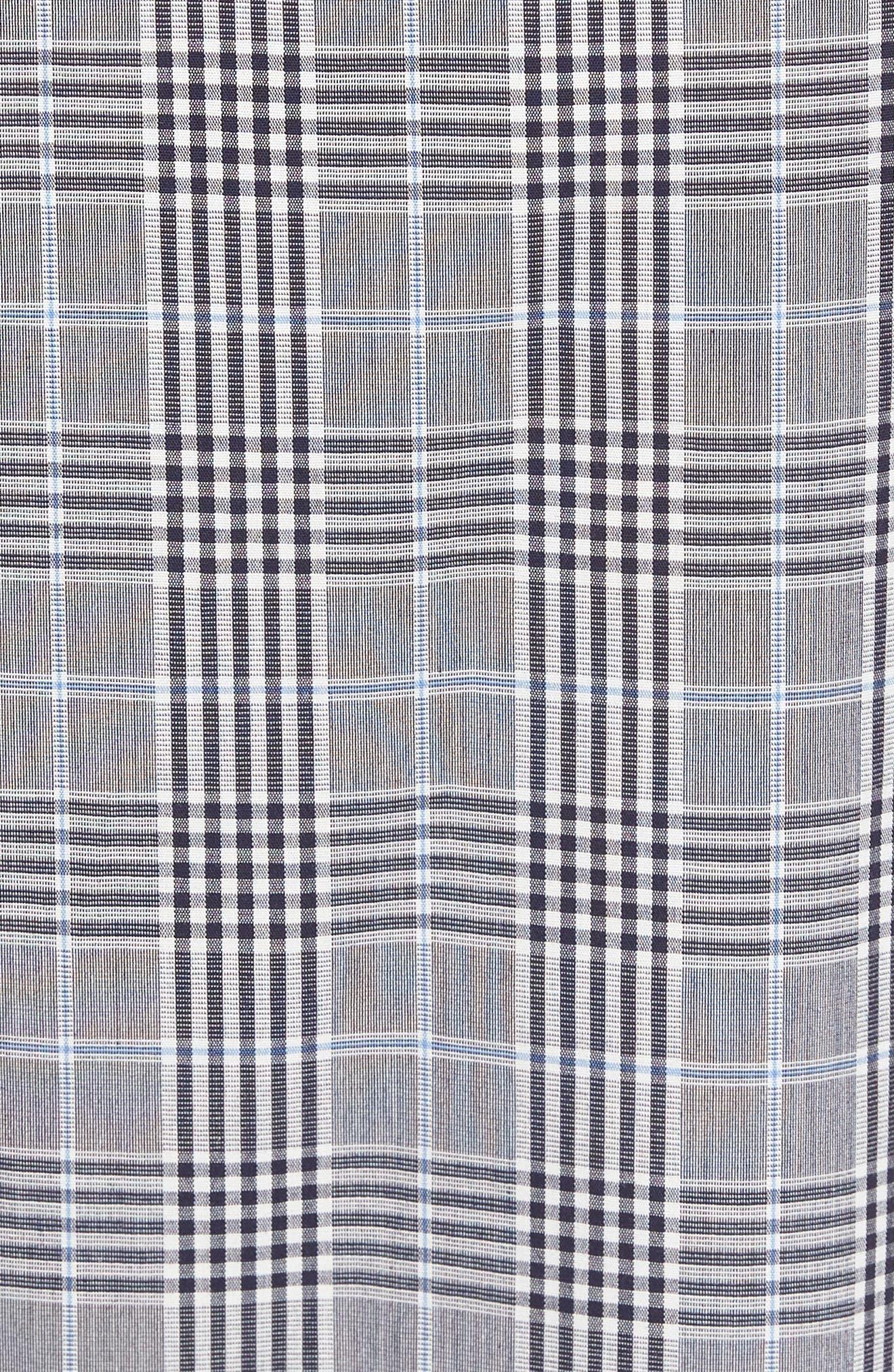MAJESTIC INTERNATIONAL, Charleston Lounge Pants, Alternate thumbnail 5, color, BLACK PLAID