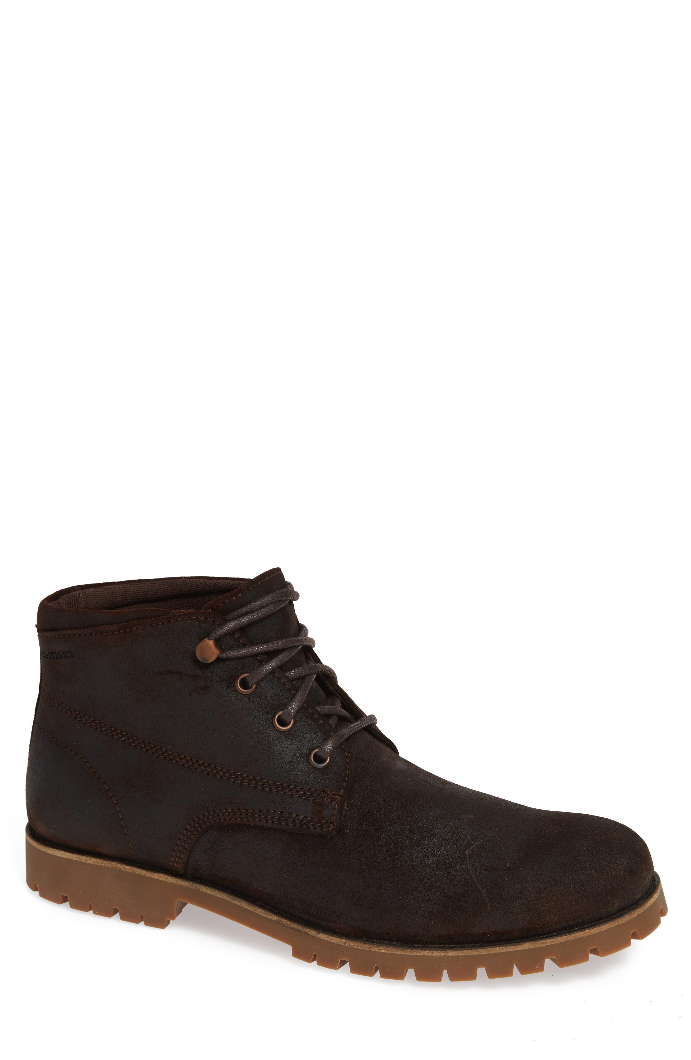 Wolverine Cort Plain Toe Waterproof Boot, Brown