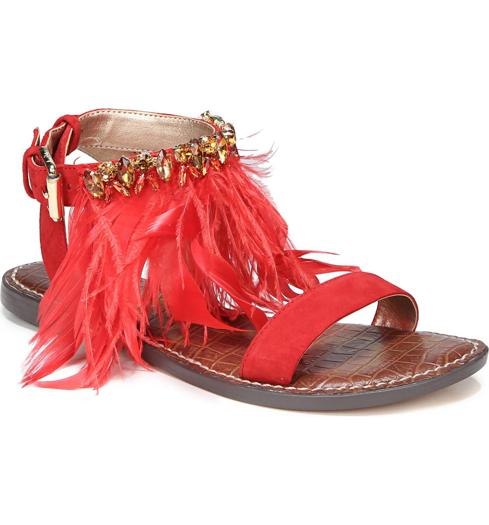 e8bb2a59b Sam Edelman Genevia Feather Sandal (Women)
