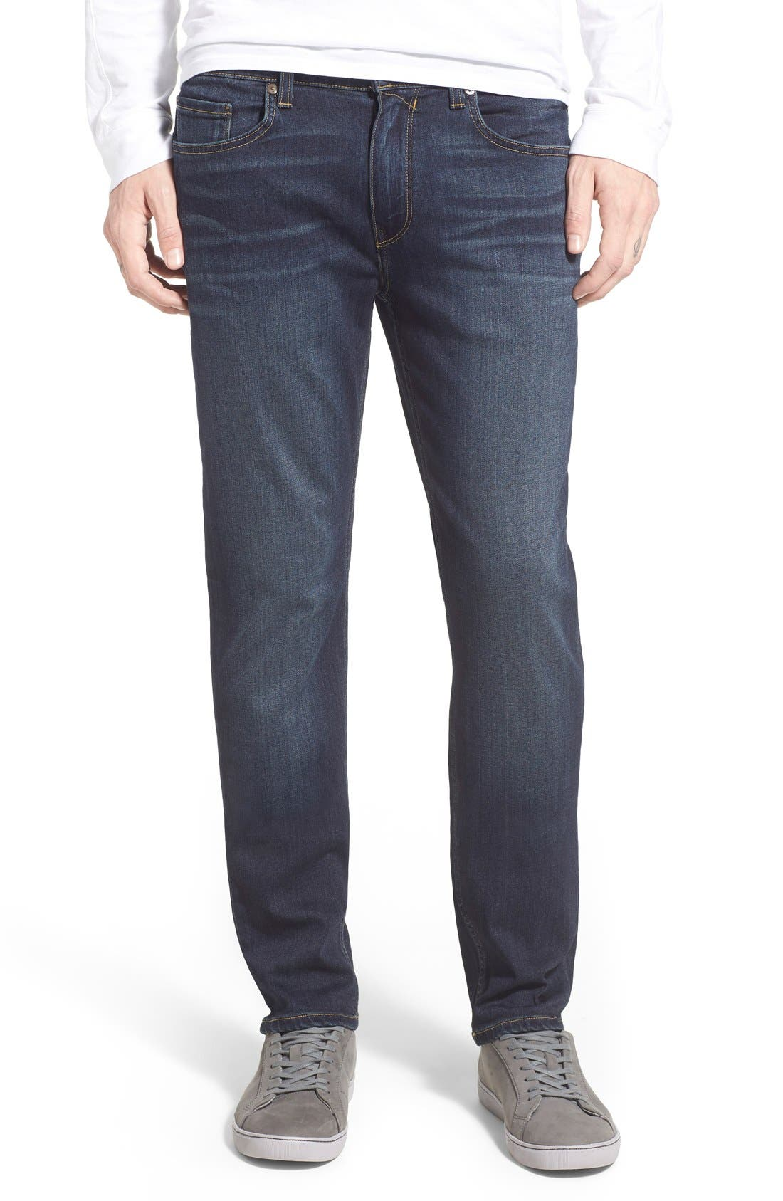 PAIGE, Lennox Slim Fit Jeans, Main thumbnail 1, color, RIGBY