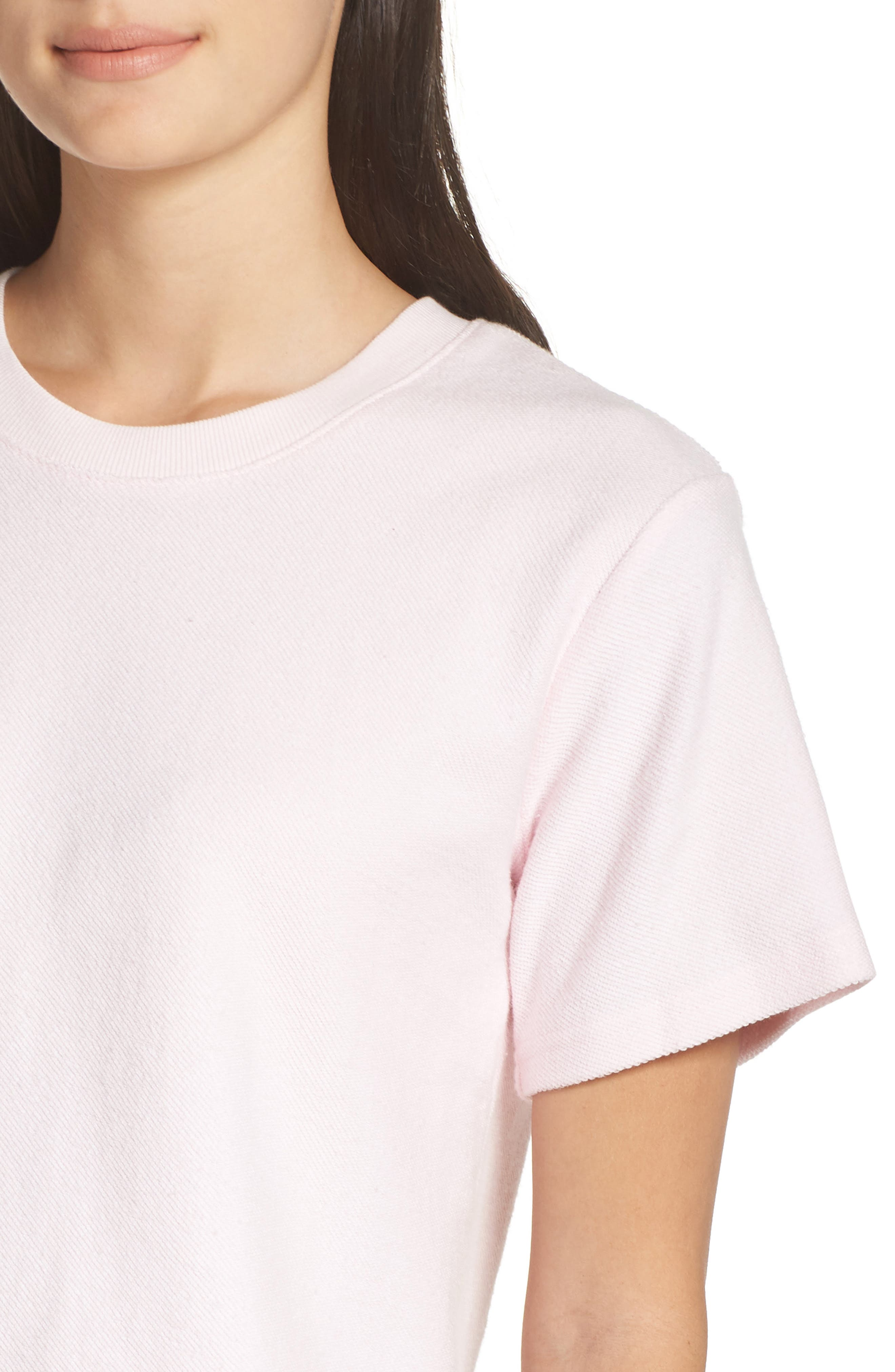 CHALMERS, Indy Tee, Alternate thumbnail 4, color, BLUSH PINK BABY TERRY