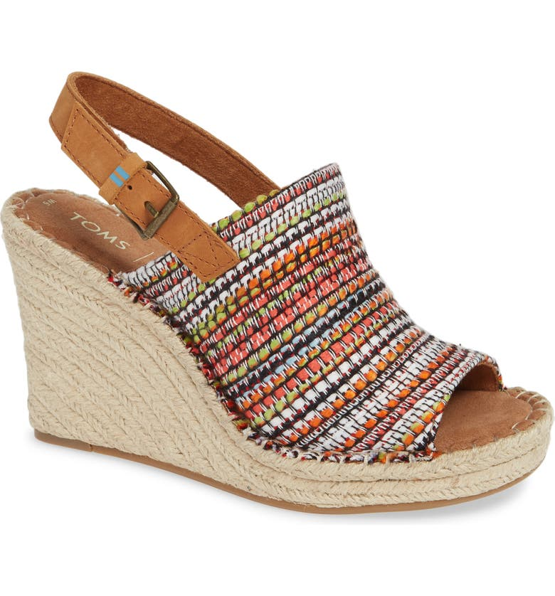 Toms Wedges MONICA SLINGBACK WEDGE