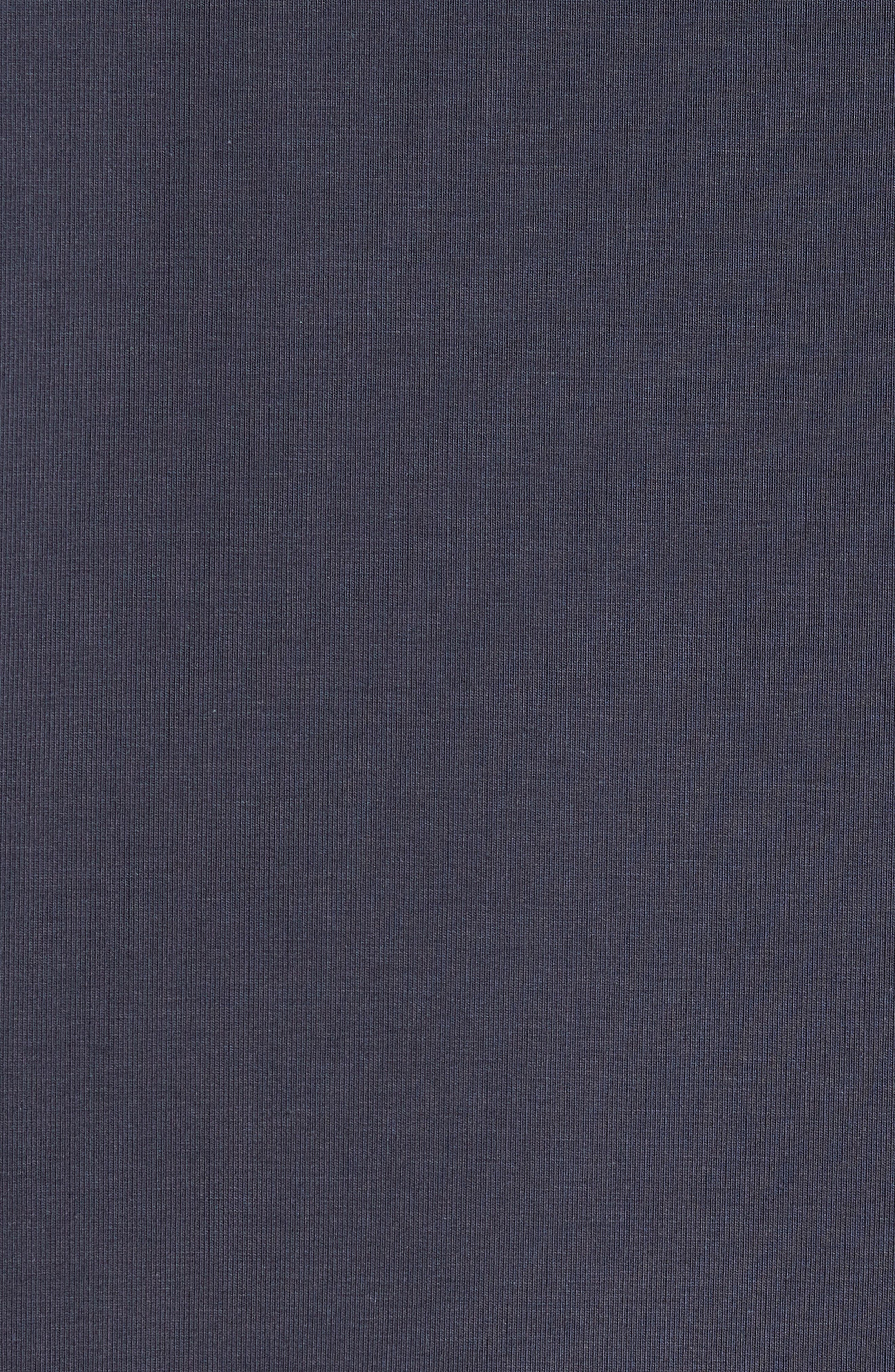 TRAVISMATHEW, 'Strange Love' Trim Fit Wrinkle Resistant Quarter Zip Jacket, Alternate thumbnail 6, color, BLUE NIGHTS