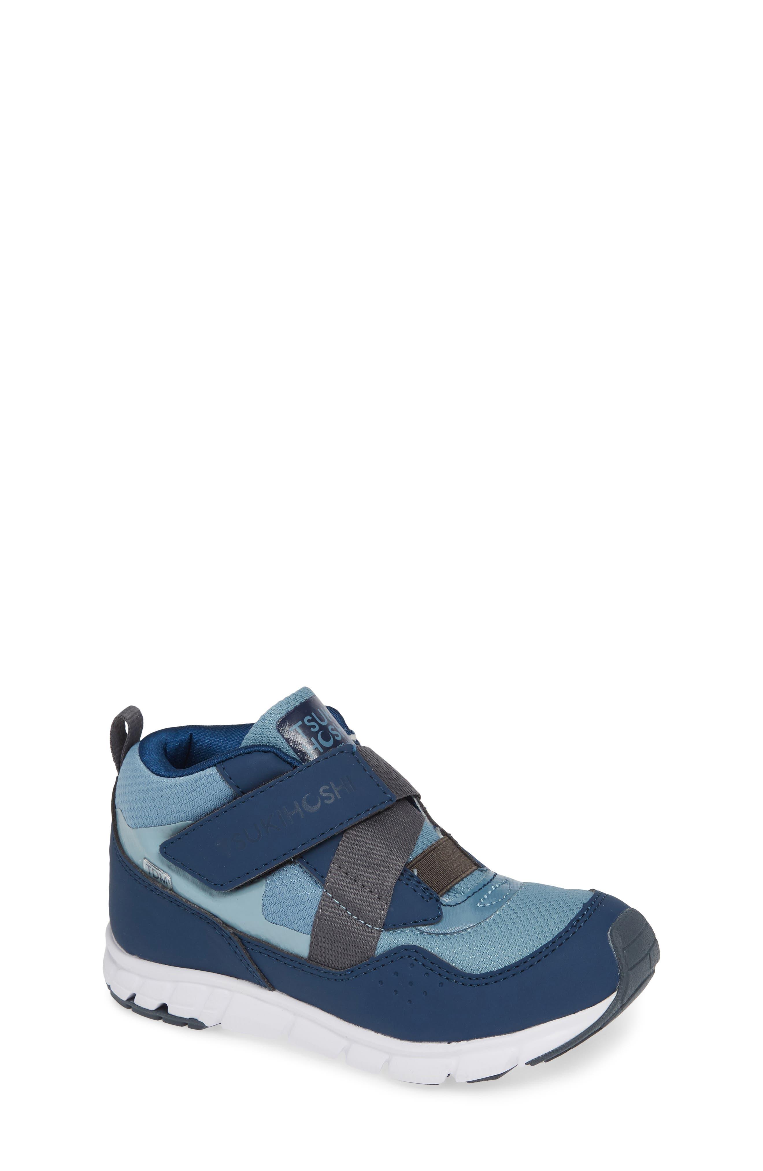 TSUKIHOSHI, Tokyo Waterproof Sneaker, Main thumbnail 1, color, NAVY/ SEA
