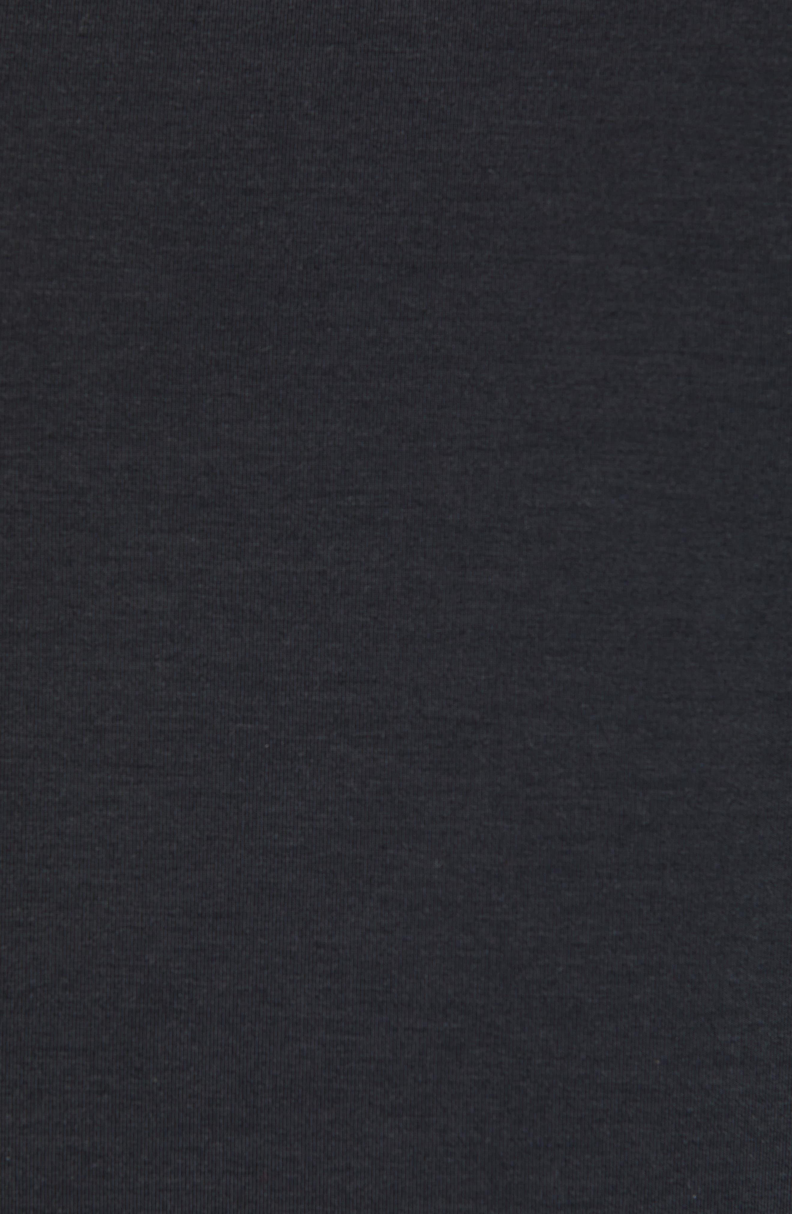 NIKE, Dry Transcent Sleeveless T-Shirt, Alternate thumbnail 5, color, BLACK/ DARK GREY
