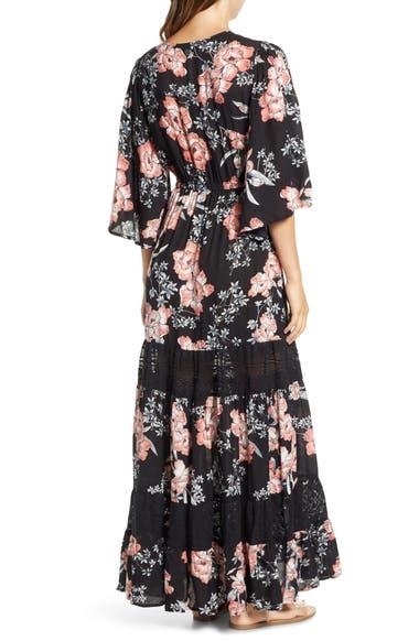02960656760a Rip Curl Nalu Lace Inset Maxi Dress