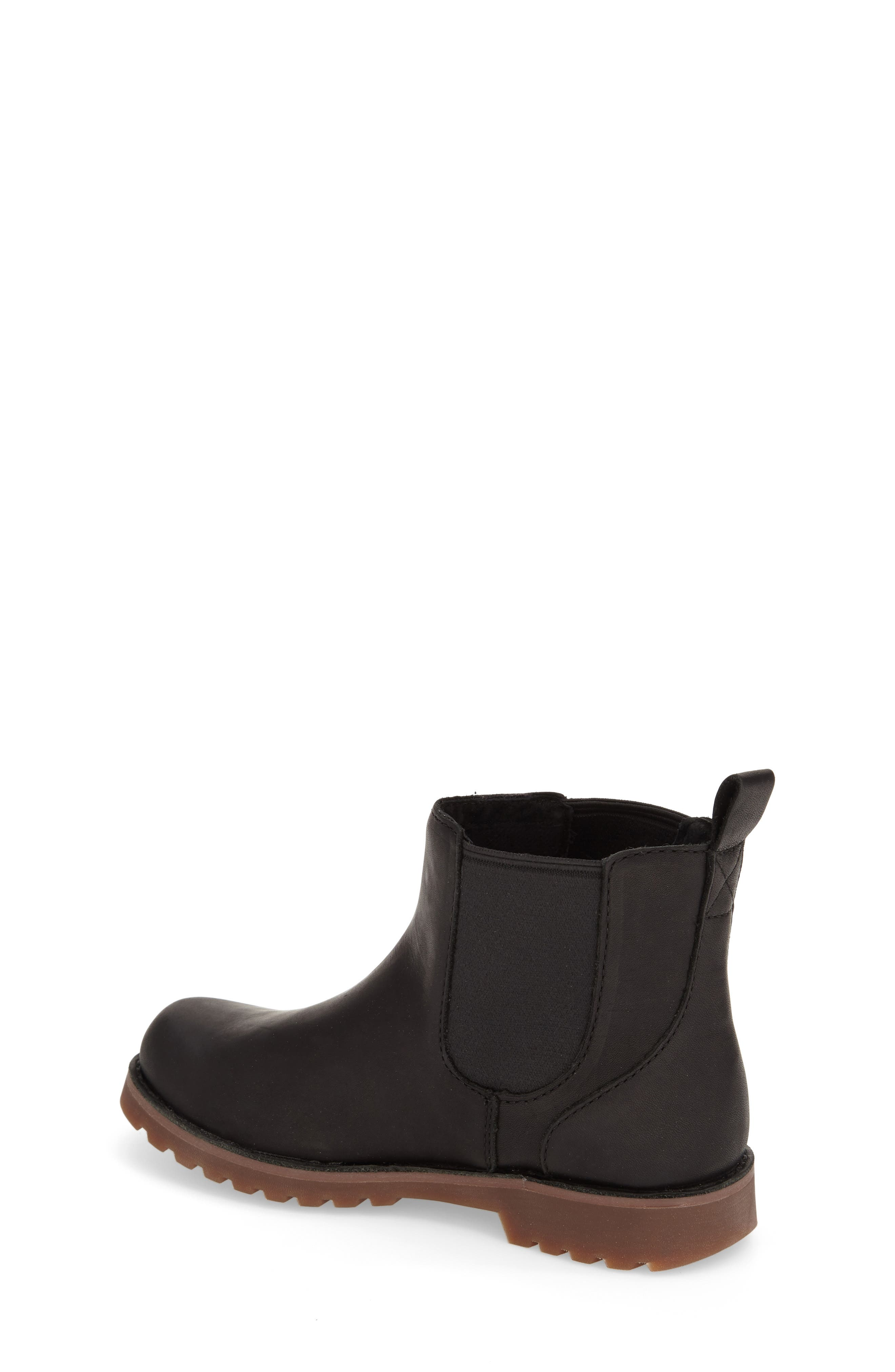 UGG<SUP>®</SUP>, Callum Water Resistant Chelsea Boot, Main thumbnail 1, color, BLACK/ BLACK