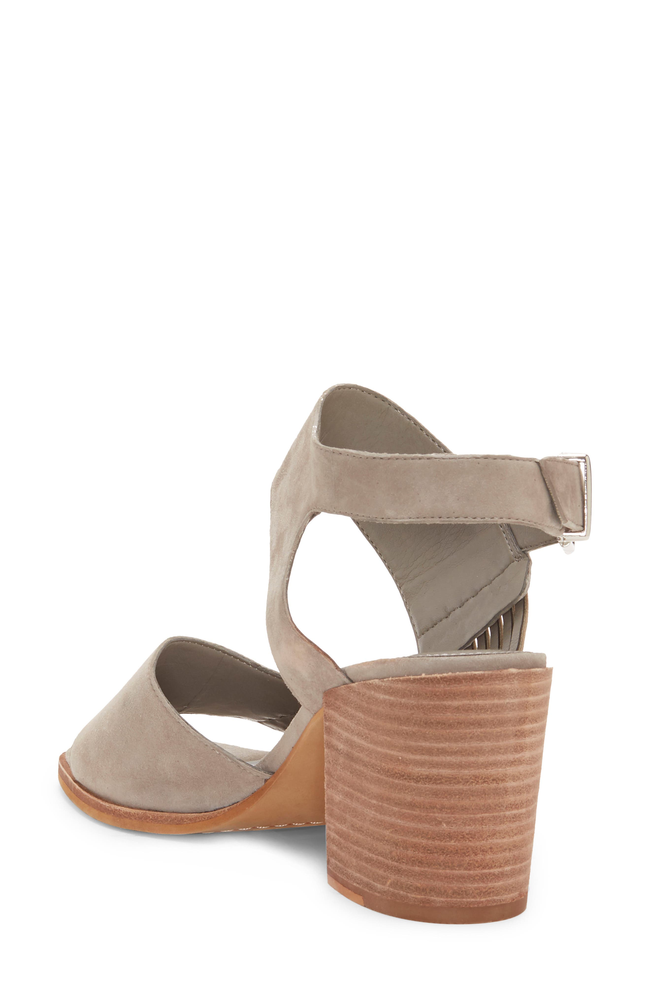VINCE CAMUTO, Karmelo Slingback Sandal, Alternate thumbnail 2, color, STORM GREY LEATHER