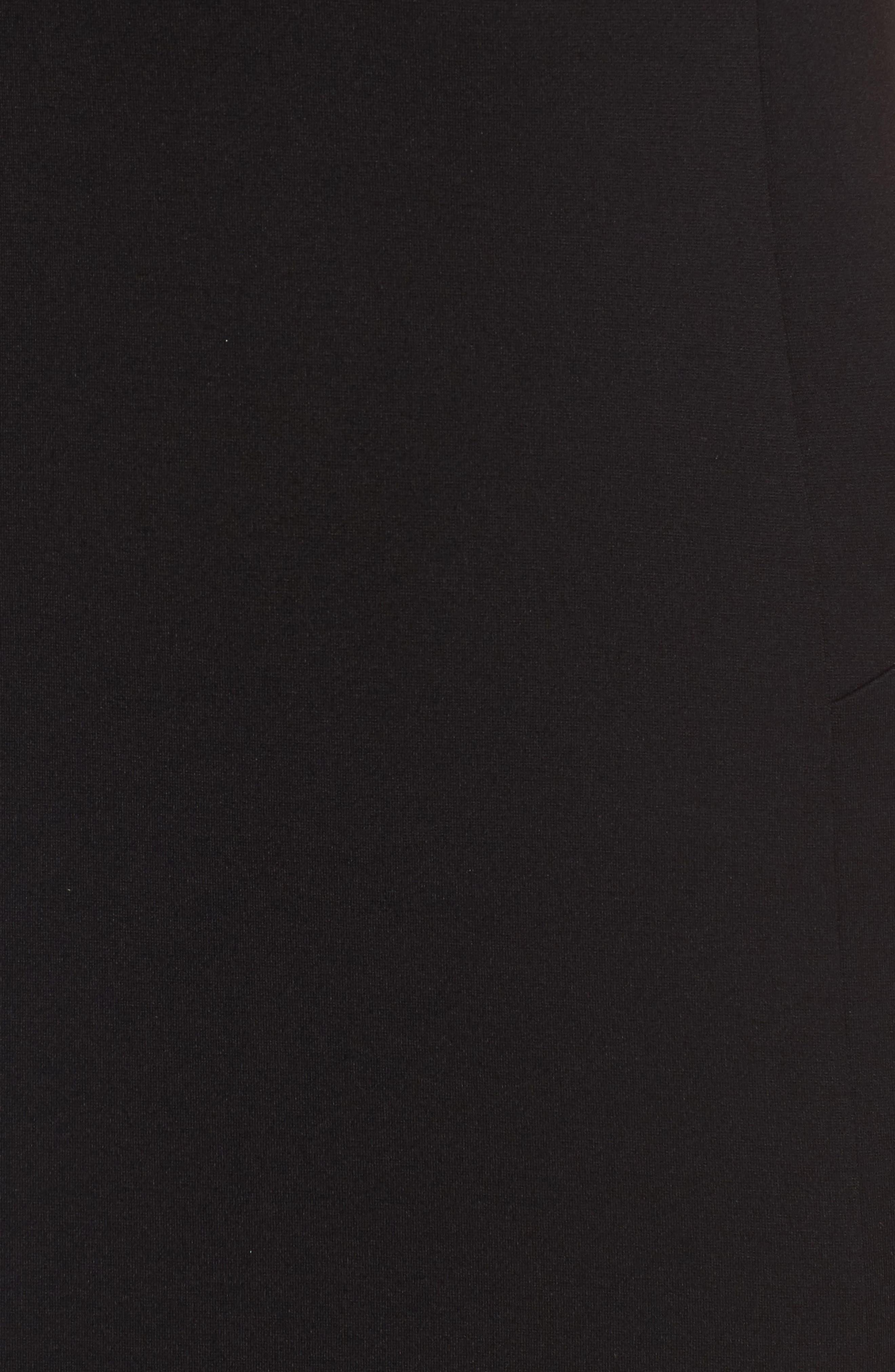 FELICITY & COCO, Ward Seamed Pencil Dress, Alternate thumbnail 6, color, 001