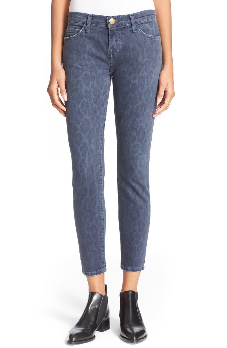 ae1b928aefad CURRENT/ELLIOTT 'Stiletto' Leopard Print Skinny Jeans, Main, color, ...