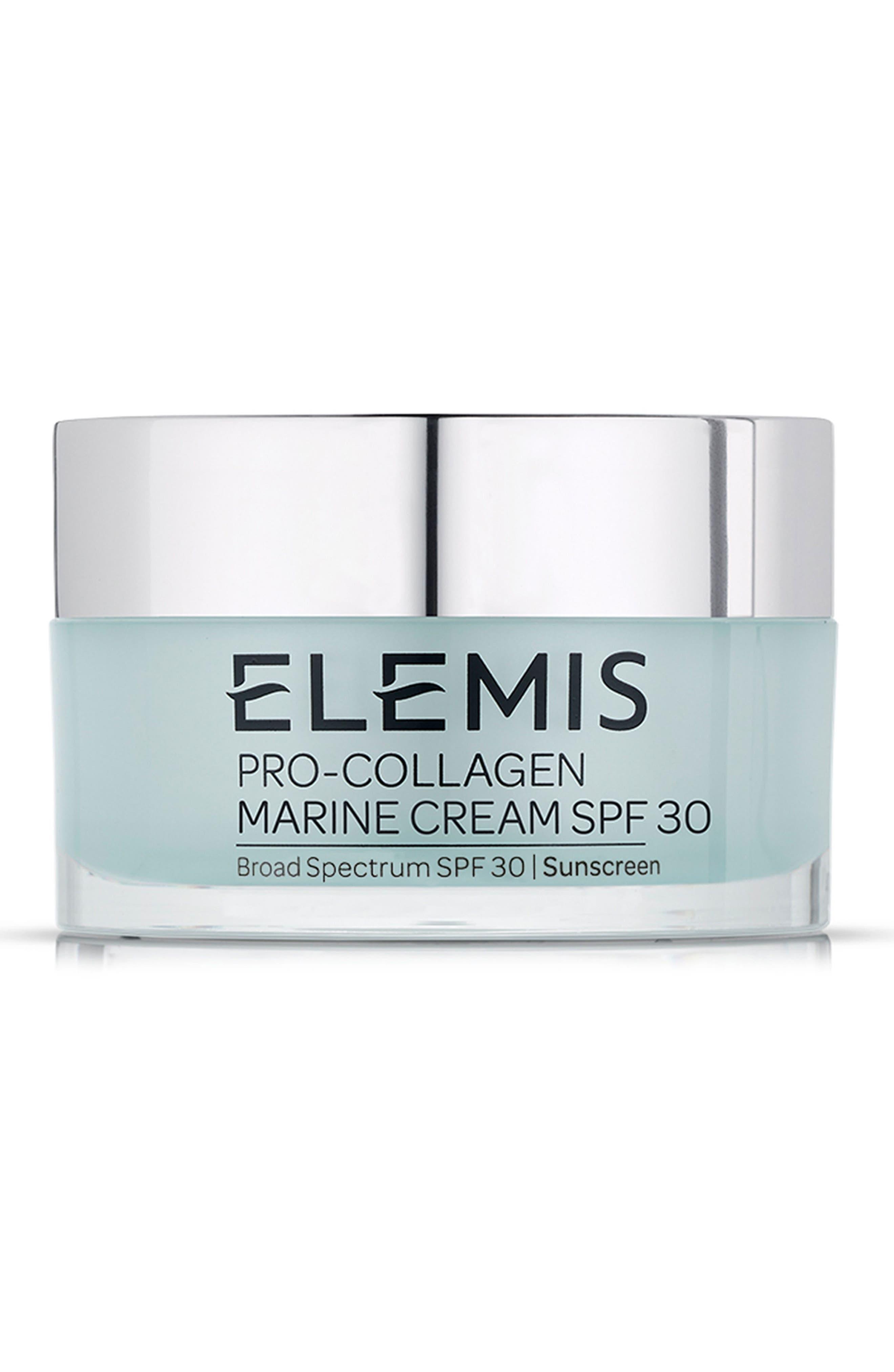 ELEMIS Pro-Collagen Marine Cream SPF 30, Main, color, NO COLOR