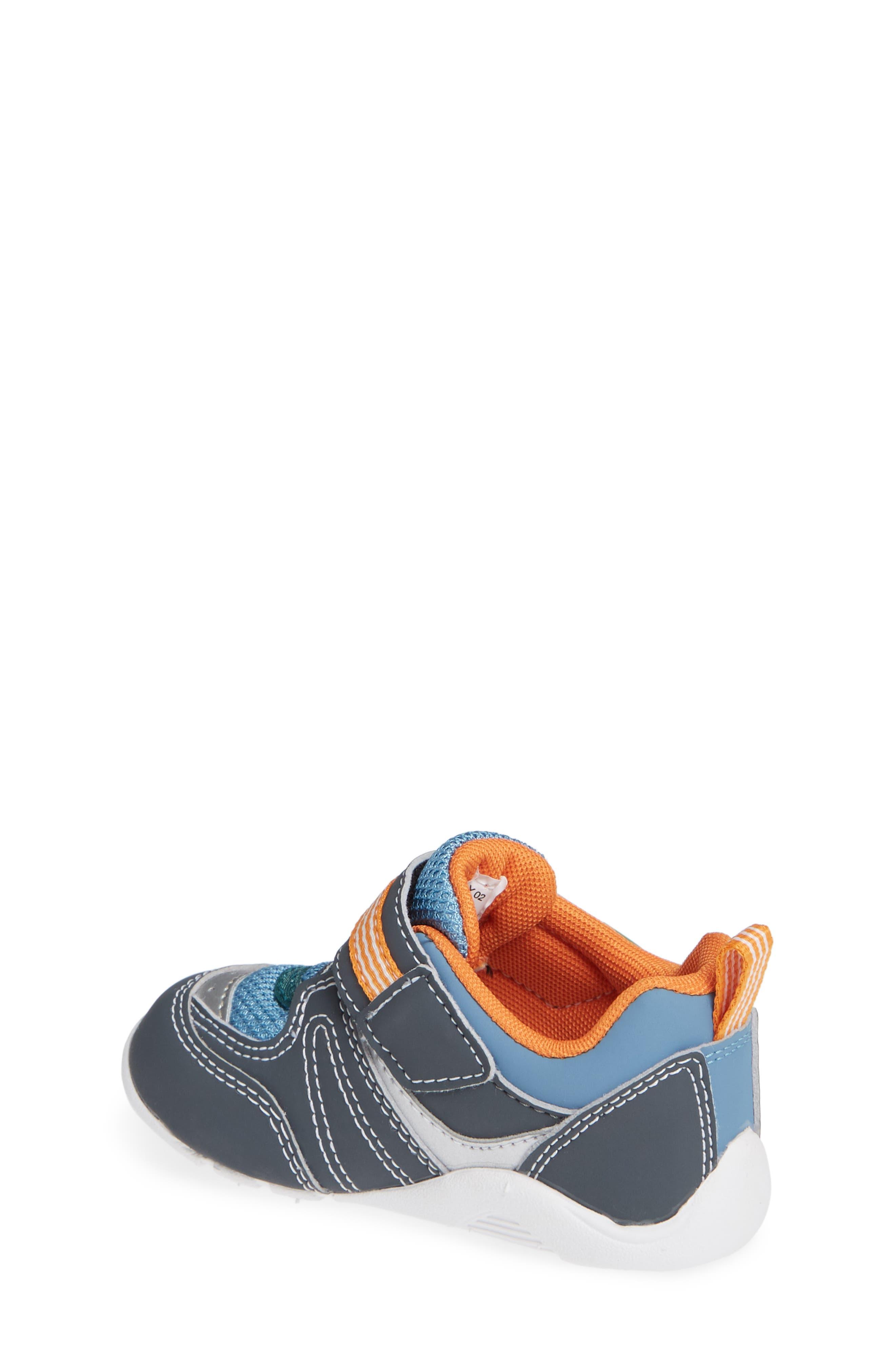 TSUKIHOSHI, Neko Washable Sneaker, Alternate thumbnail 2, color, CHARCOAL/ SEA