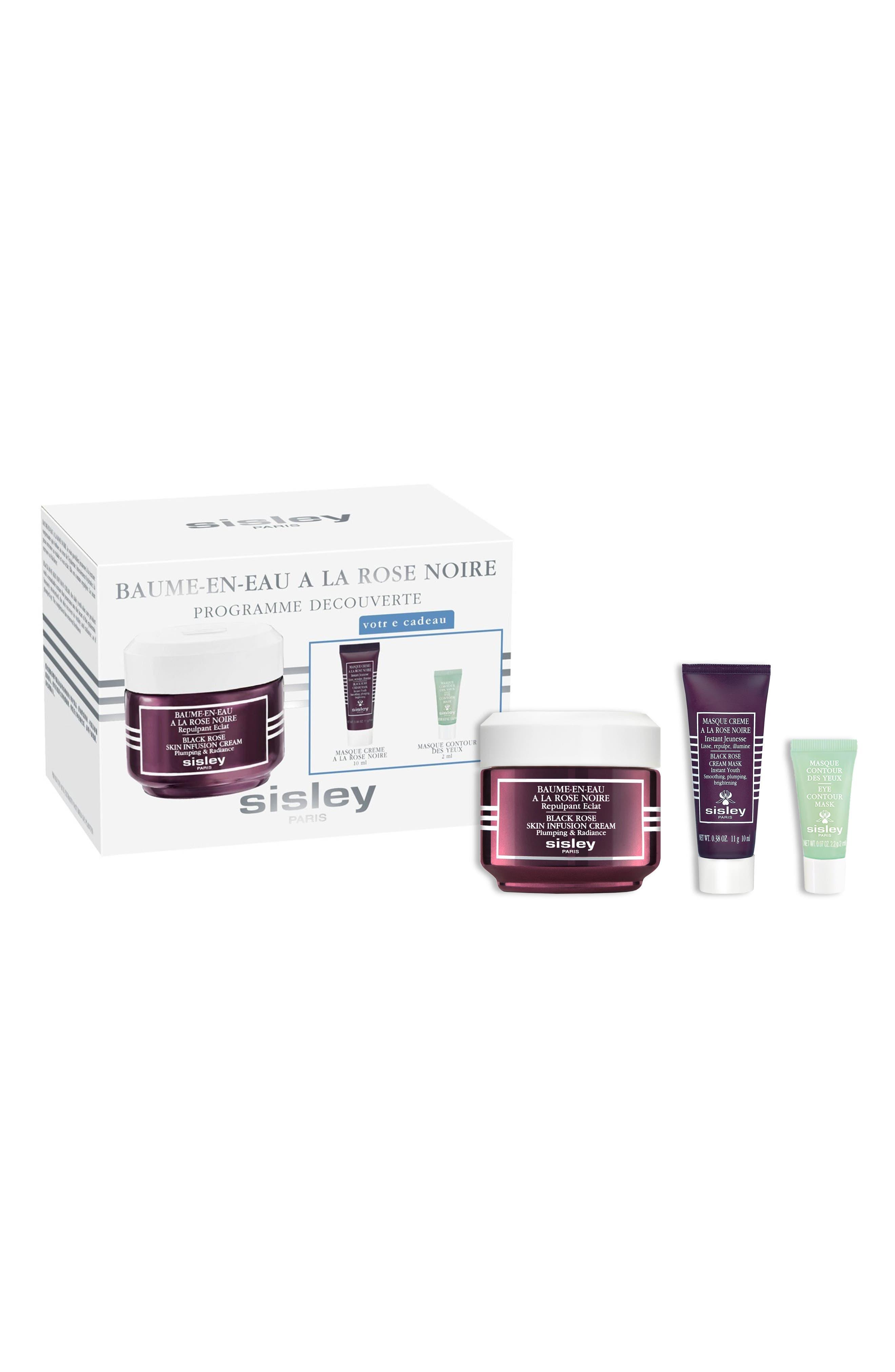 SISLEY PARIS, Black Rose Skin Infusion Discovery Set, Main thumbnail 1, color, NO COLOR
