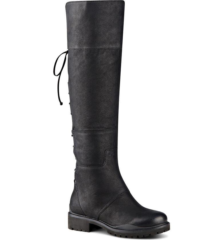 714c08e8017 Nine West  Mavira  Knee-High Leather Boot (Women)