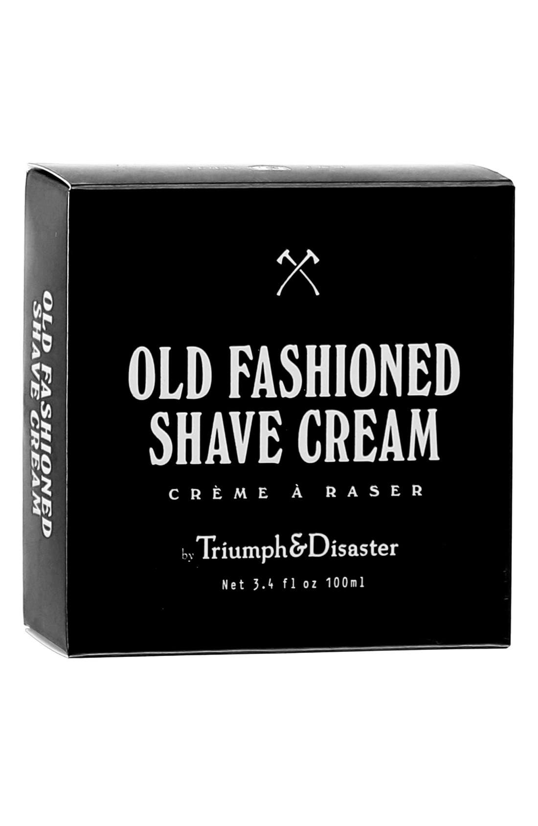 TRIUMPH & DISASTER, Old Fashioned Shave Cream Jar, Alternate thumbnail 2, color, NO COLOR