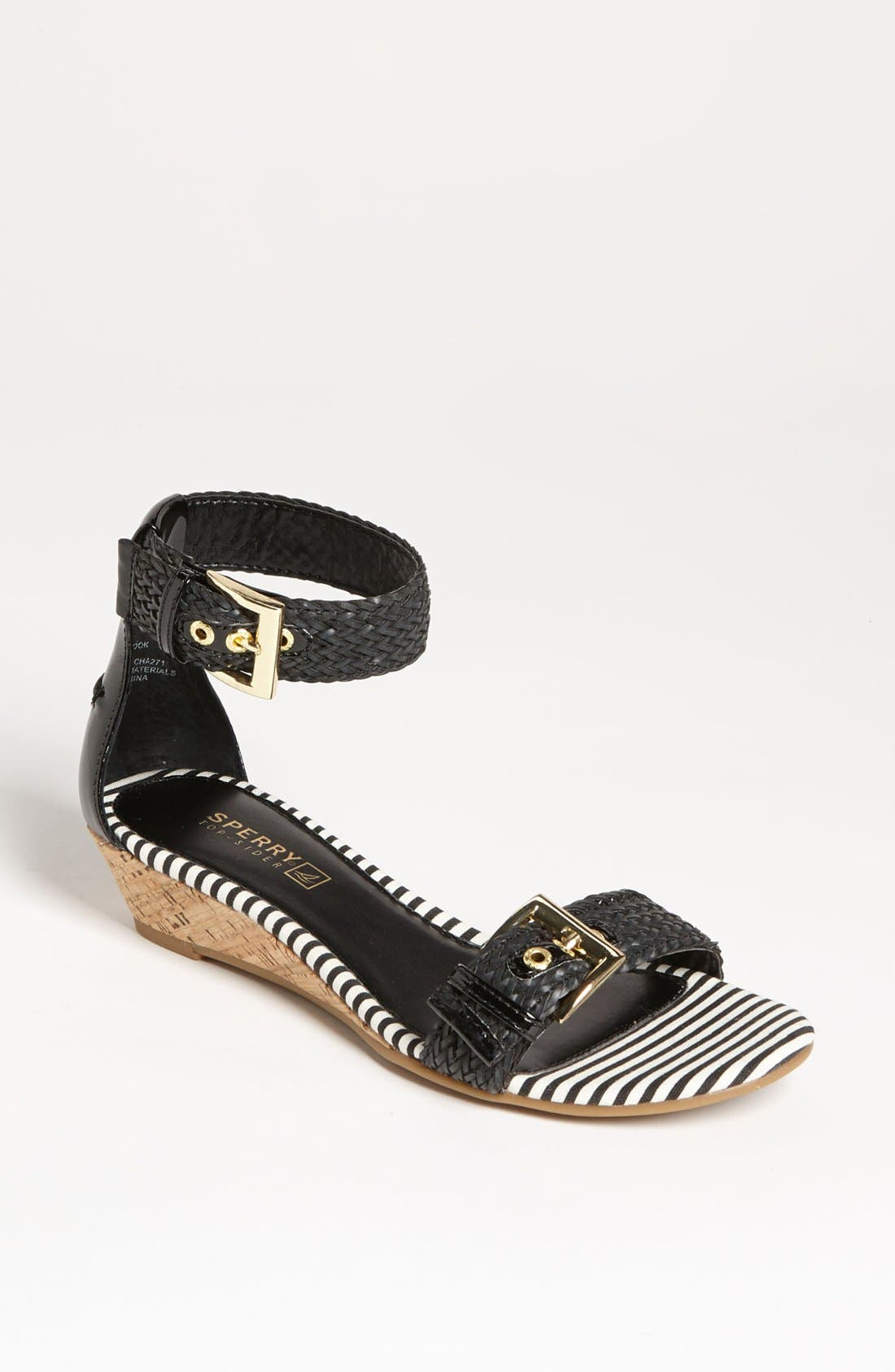 SPERRY Top-Sider<sup>®</sup> 'Lynbrook' Sandal, Main, color, 001