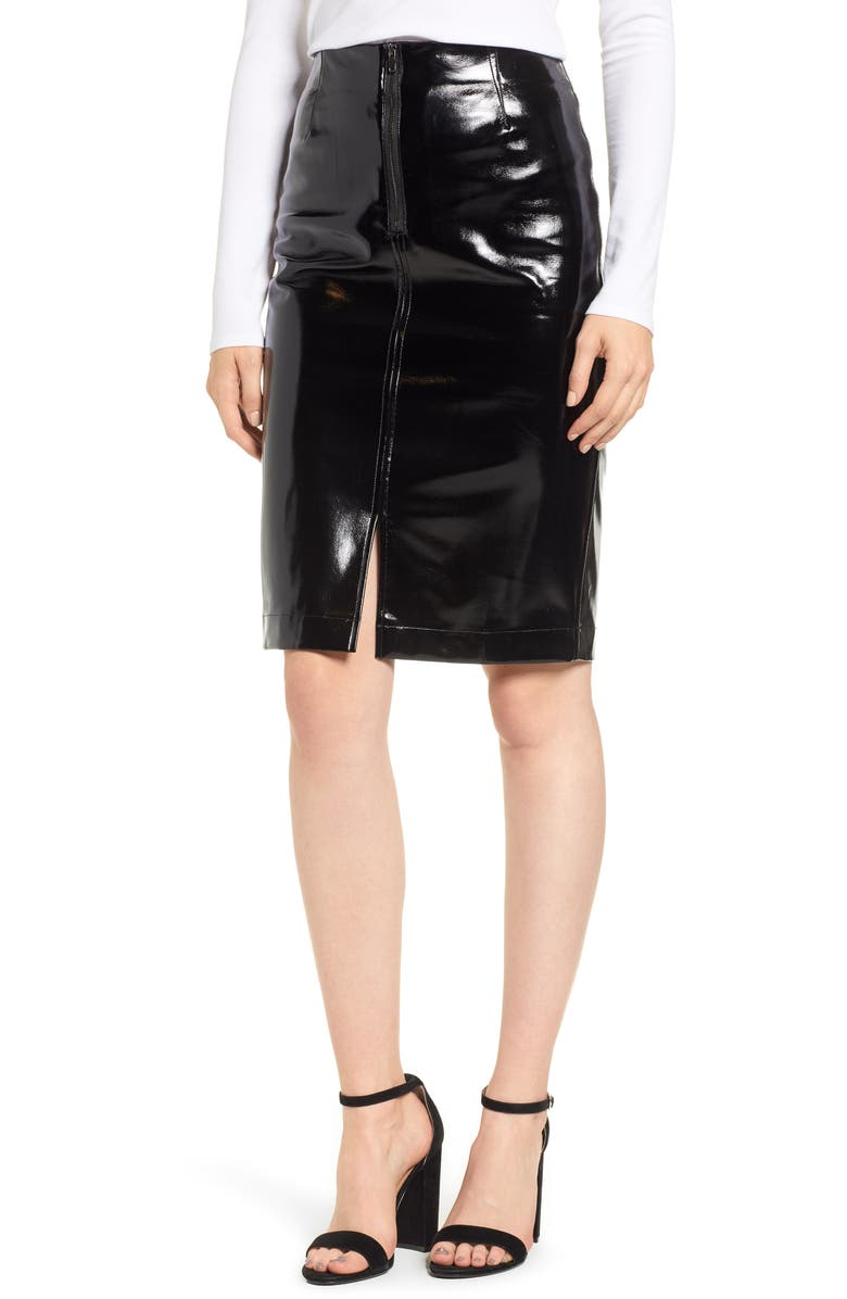 048350f705 Nordstrom Faux Leather Skirt – DACC