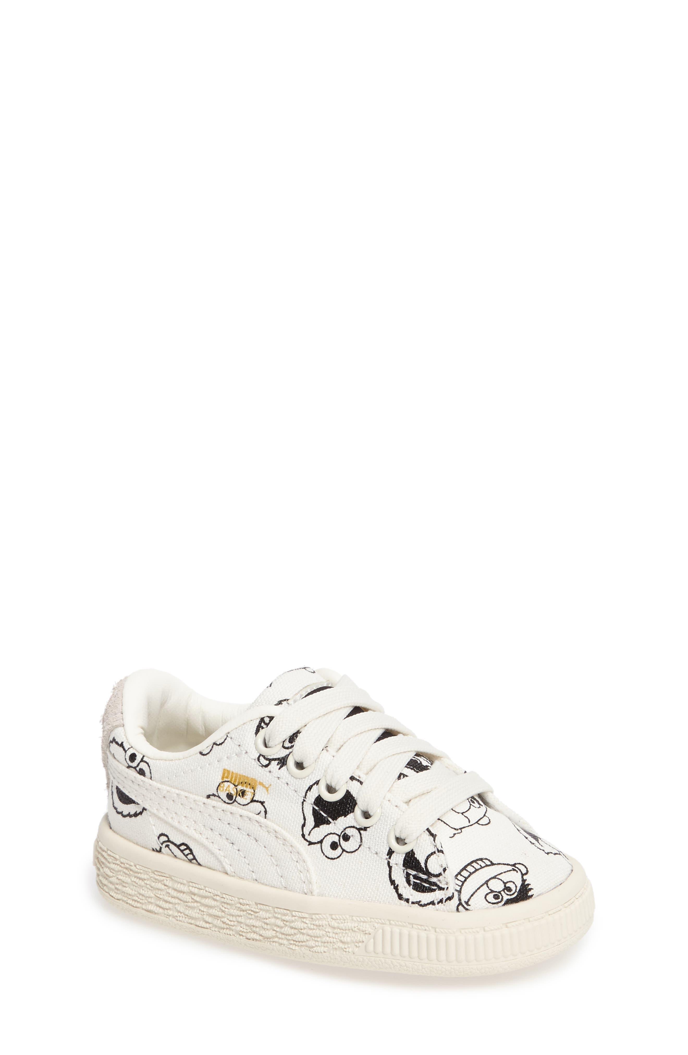PUMA x Sesame Street<sup>®</sup> Faces Sneaker, Main, color, 100
