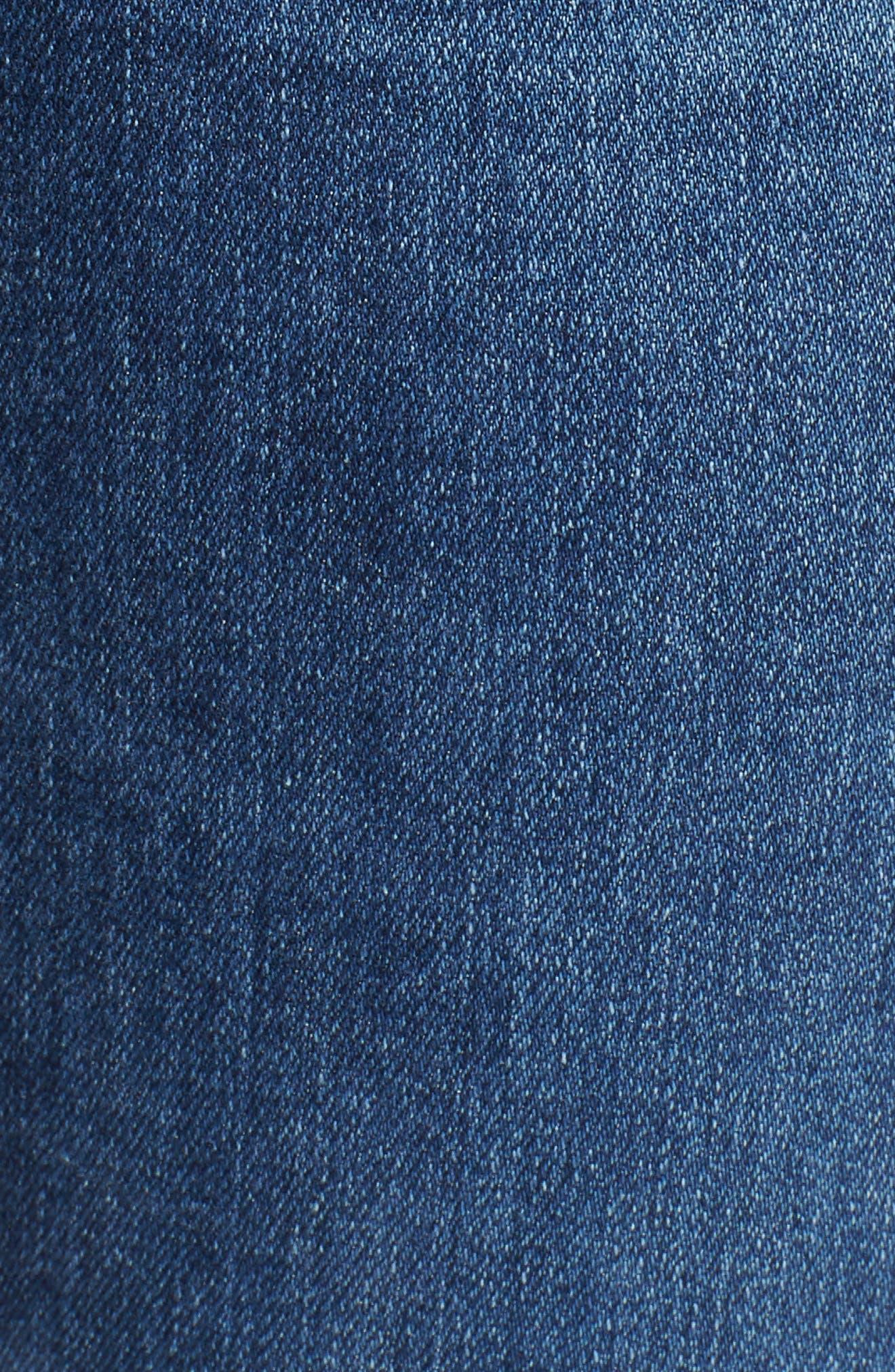 AG, Harper Slim Straight Leg Jeans, Alternate thumbnail 6, color, 10 YEARS CAMBRIA